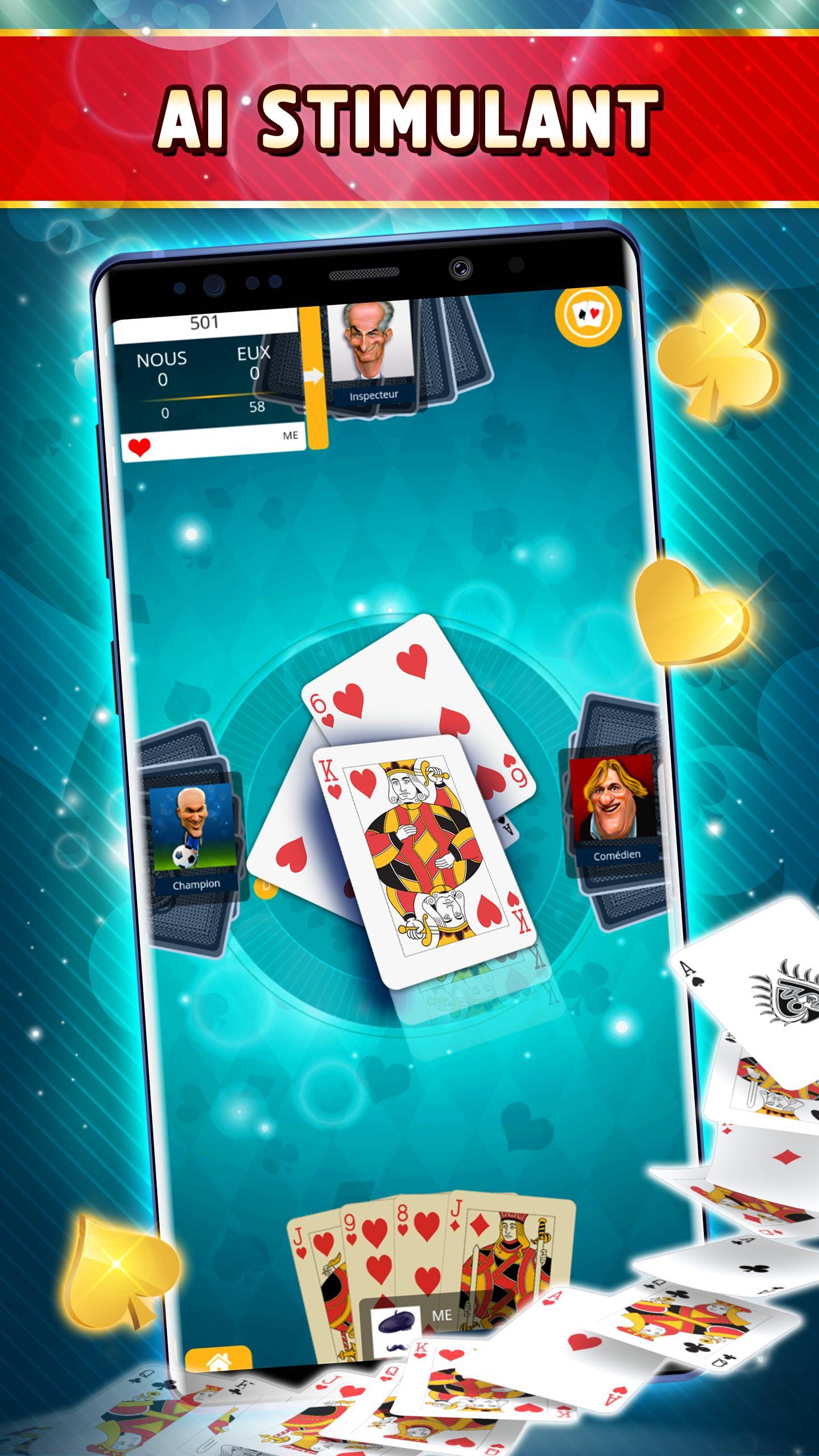 Belote Offline Single Player Card Game 2.0.23 Screenshot 2