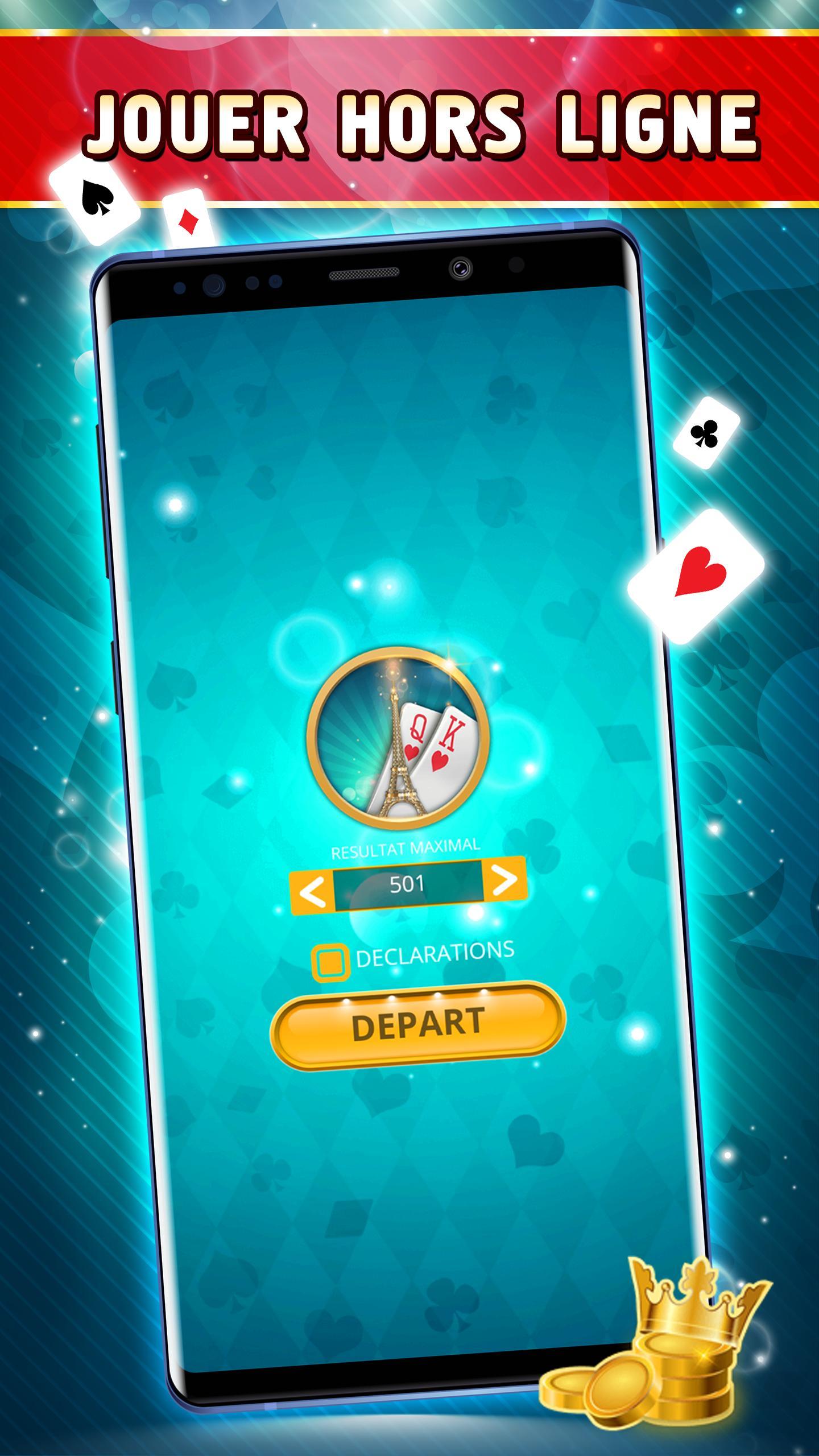 Belote Offline Single Player Card Game 2.0.23 Screenshot 4