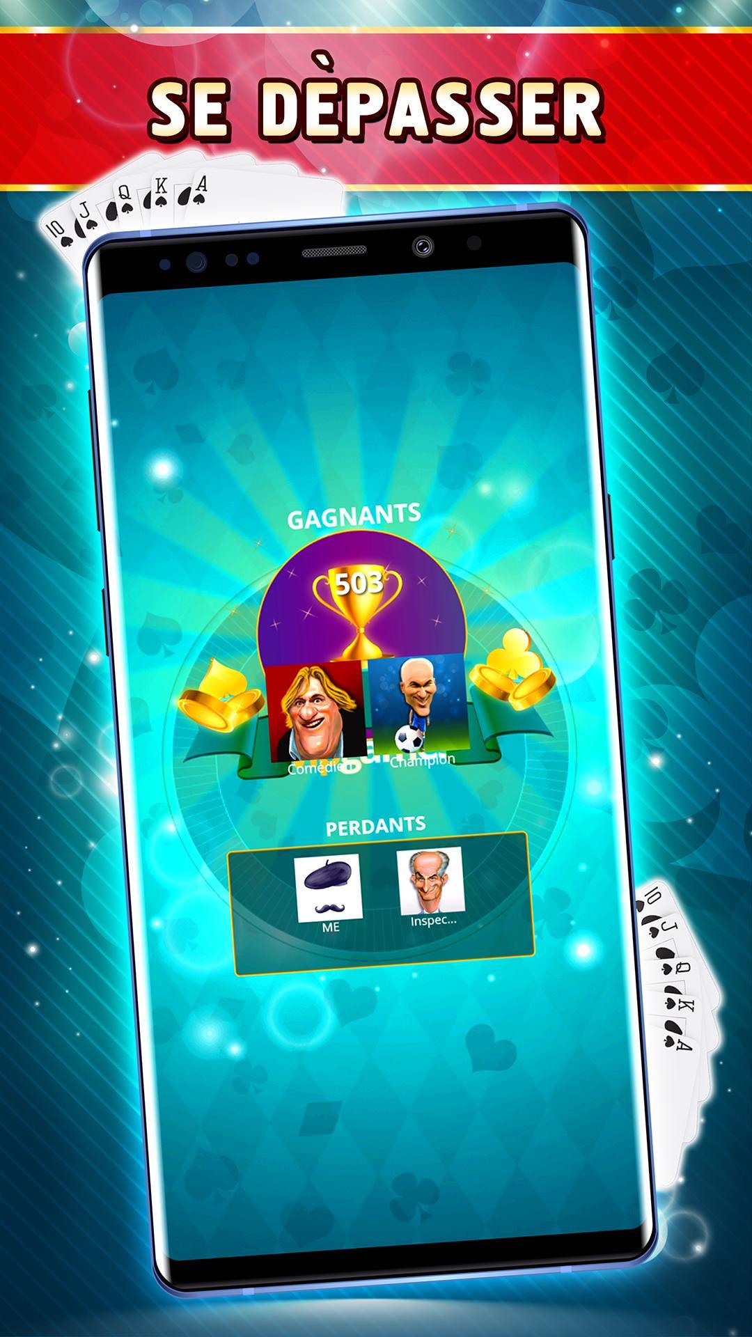 Belote Offline Single Player Card Game 2.0.23 Screenshot 5