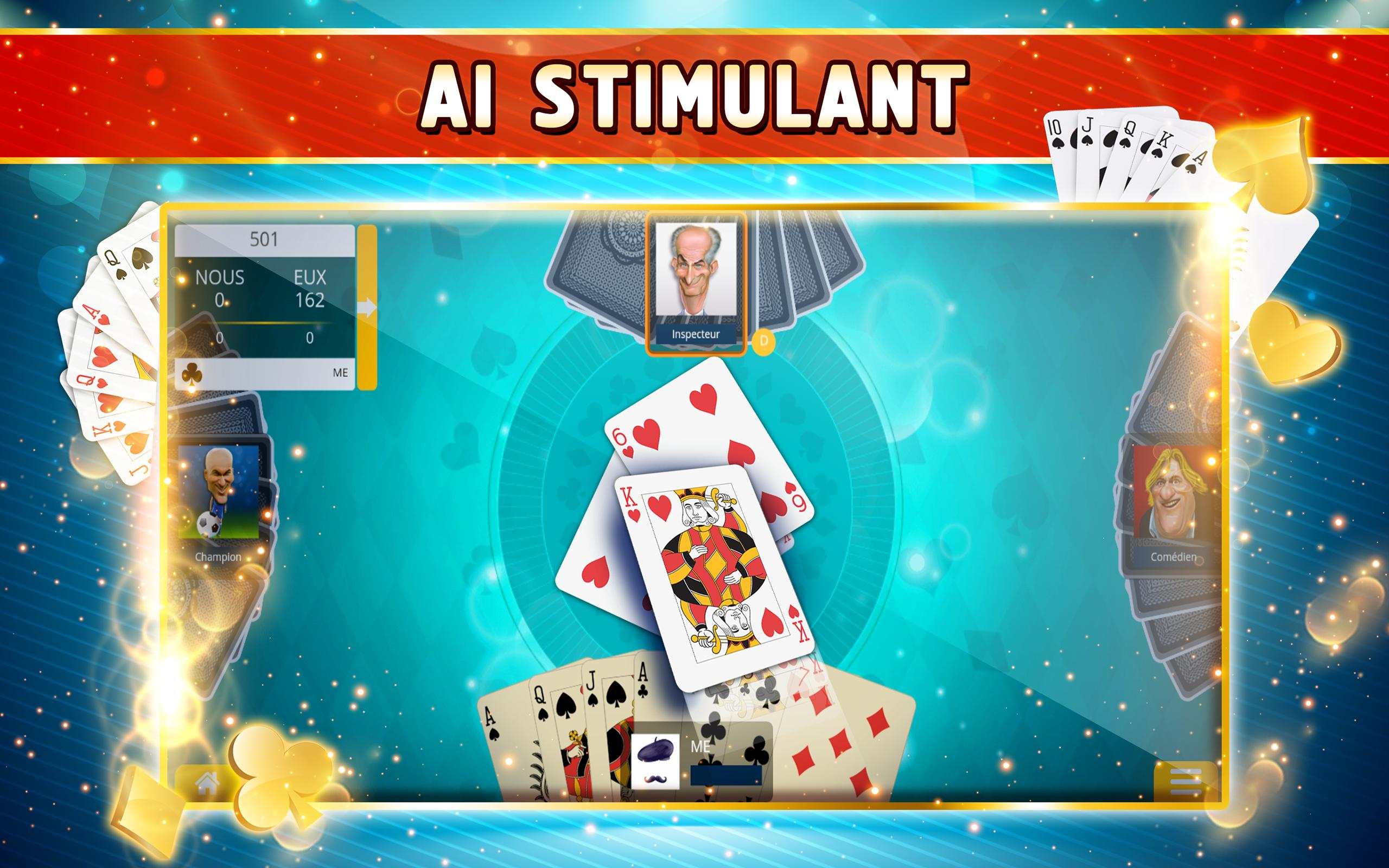 Belote Offline Single Player Card Game 2.0.23 Screenshot 7