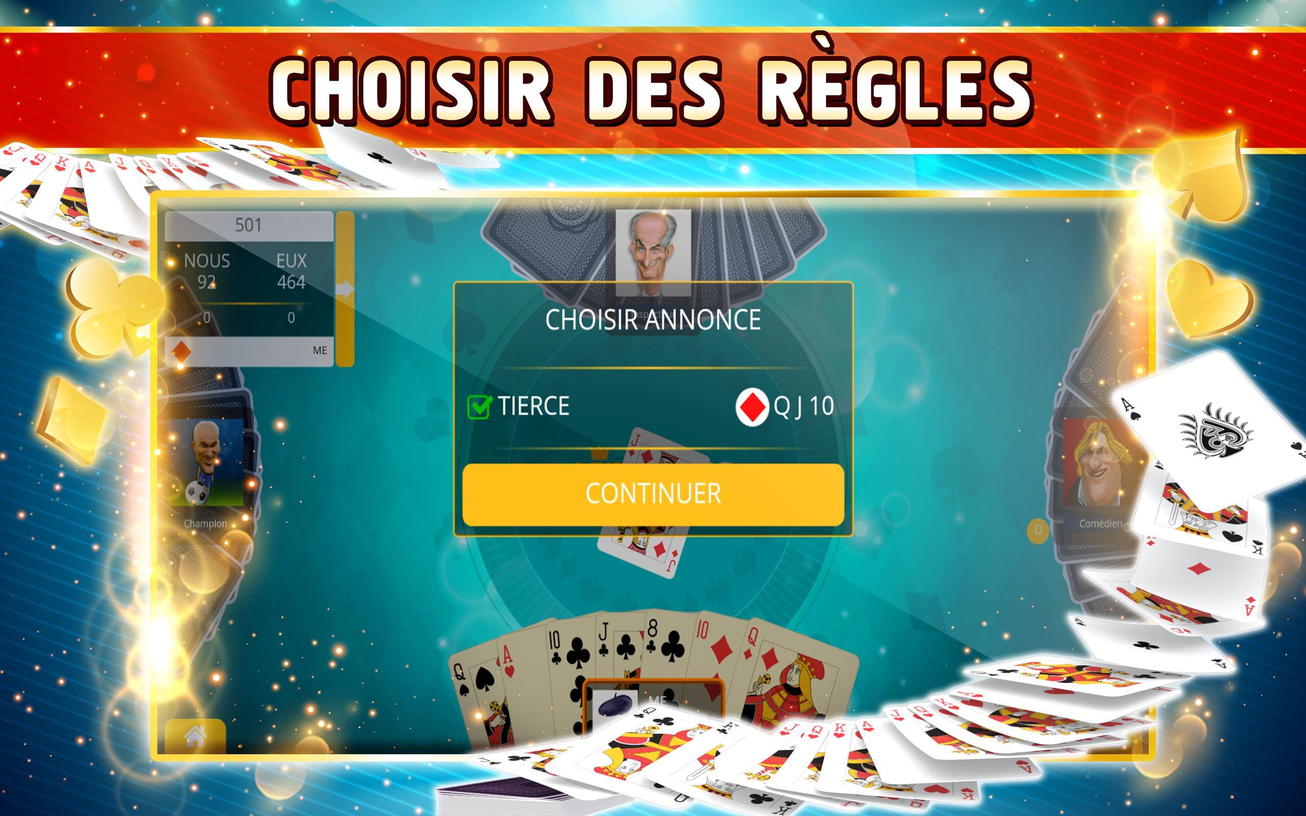 Belote Offline Single Player Card Game 2.0.23 Screenshot 8