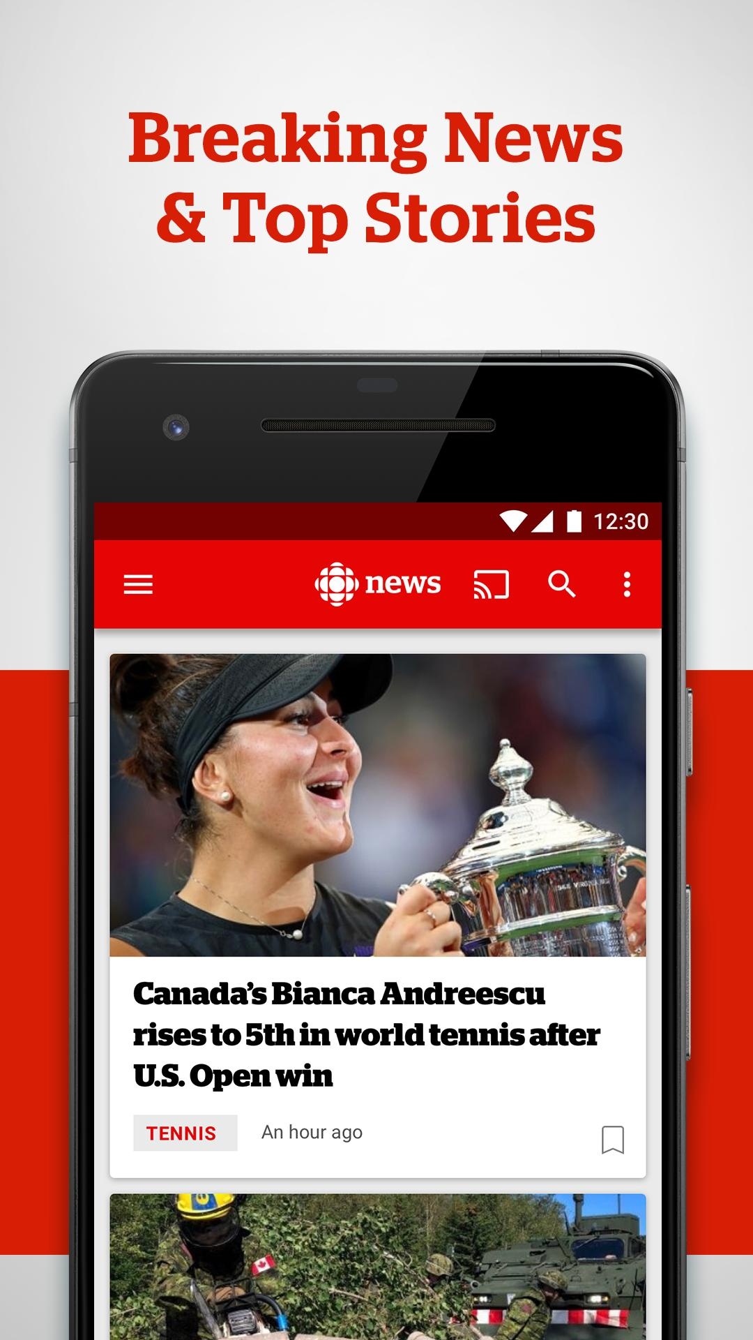 CBC News 4.3.1 Screenshot 1