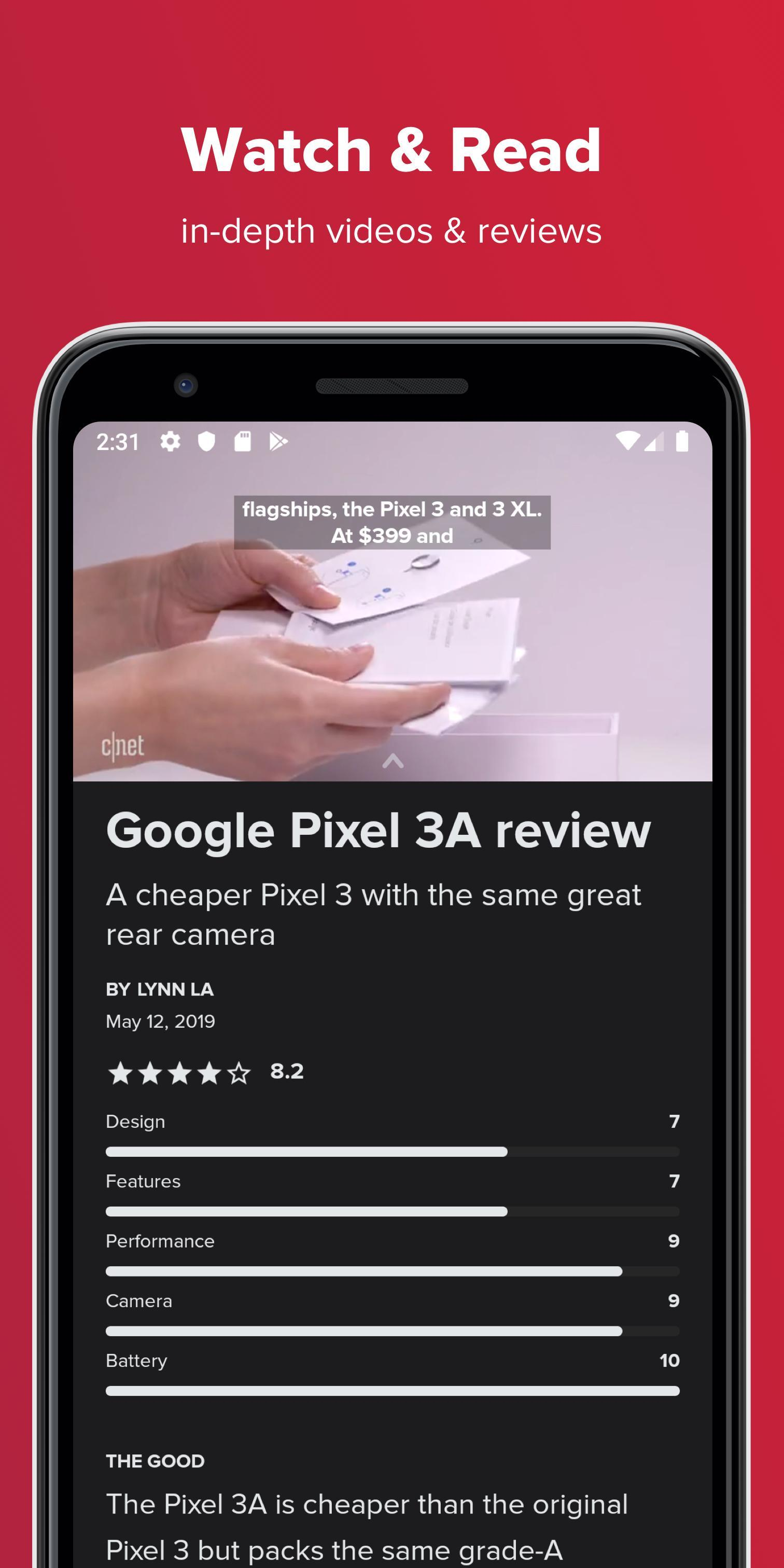 CNET Best Tech News, Reviews, Videos & Deals 4.5.3 Screenshot 5