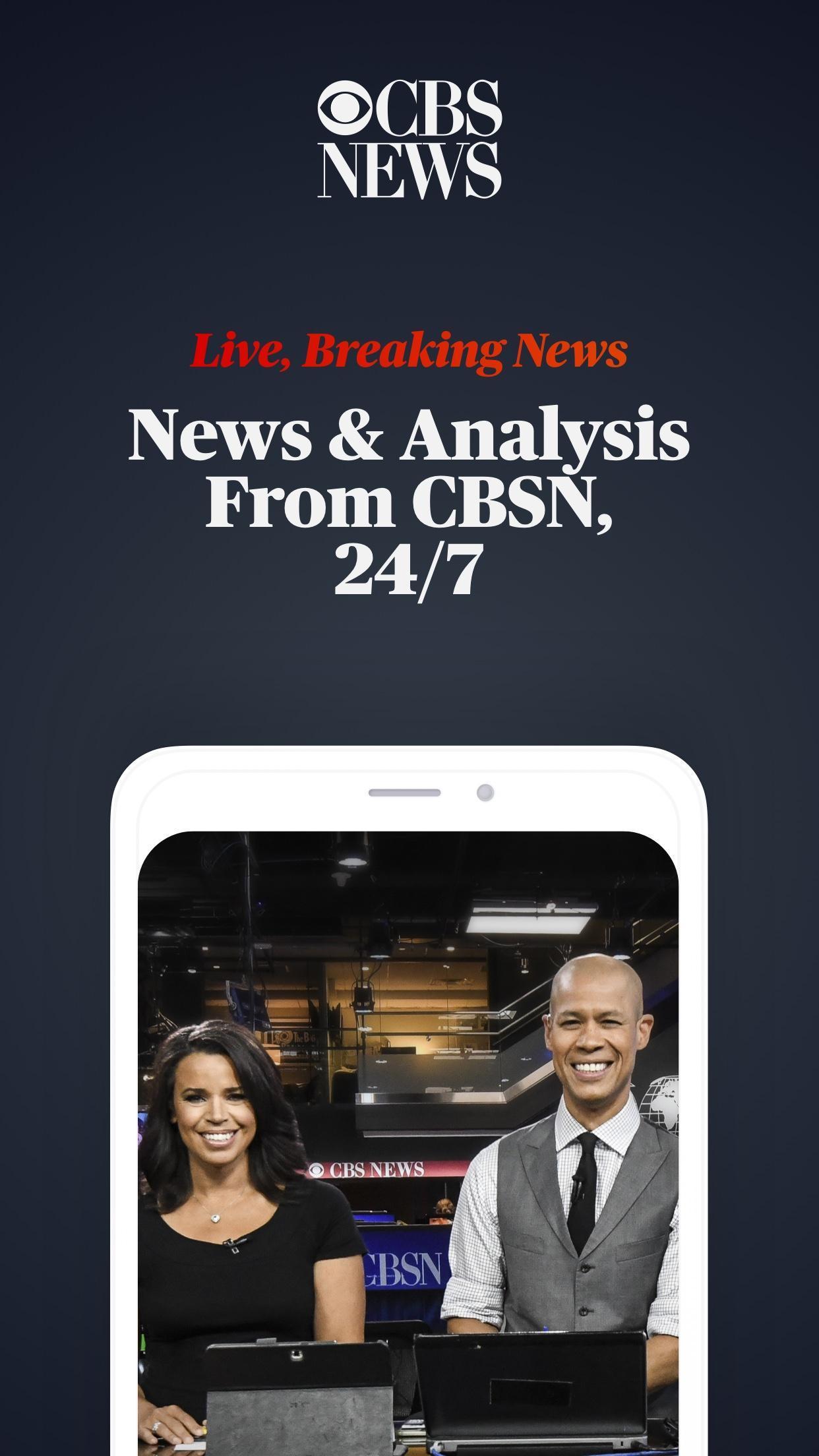 CBS News Live Breaking News 4.1.8 Screenshot 1
