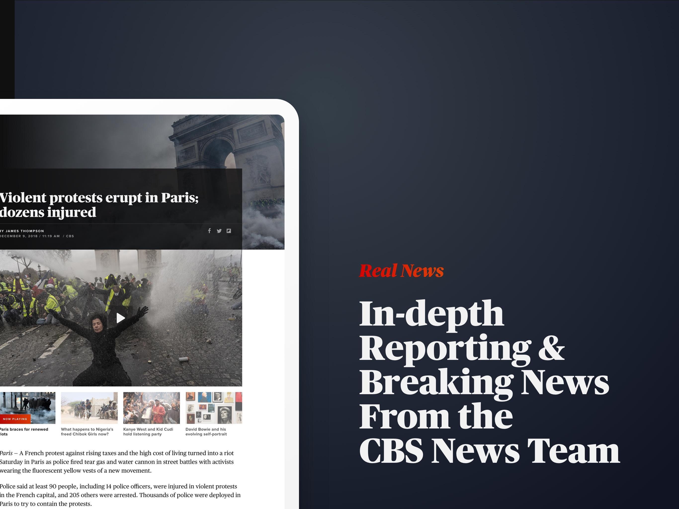 CBS News Live Breaking News 4.1.8 Screenshot 12