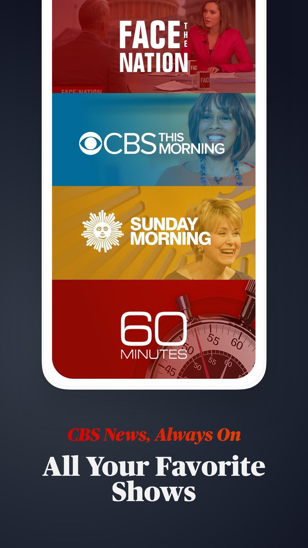 CBS News Live Breaking News 4.1.8 Screenshot 3