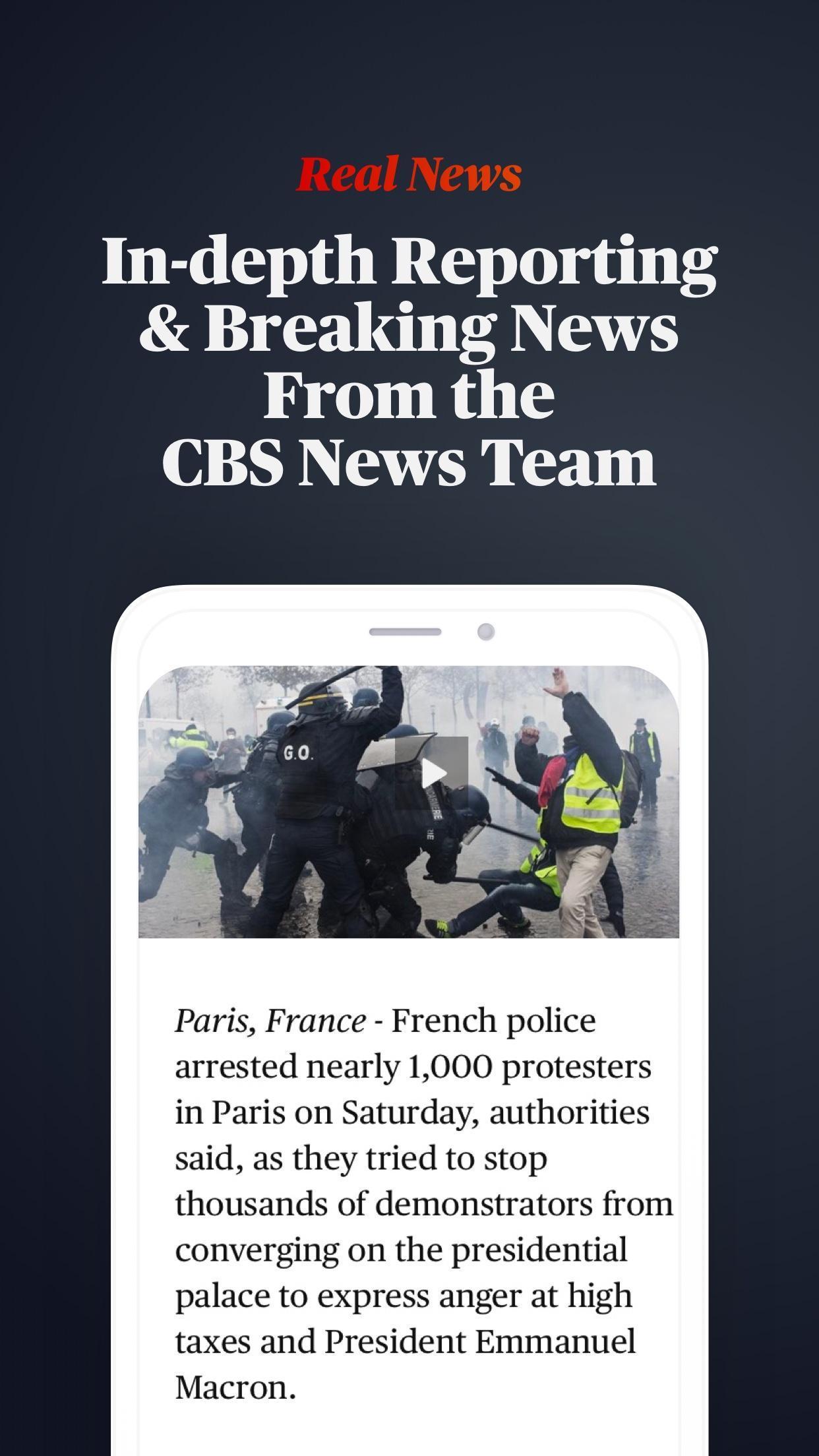 CBS News Live Breaking News 4.1.8 Screenshot 4