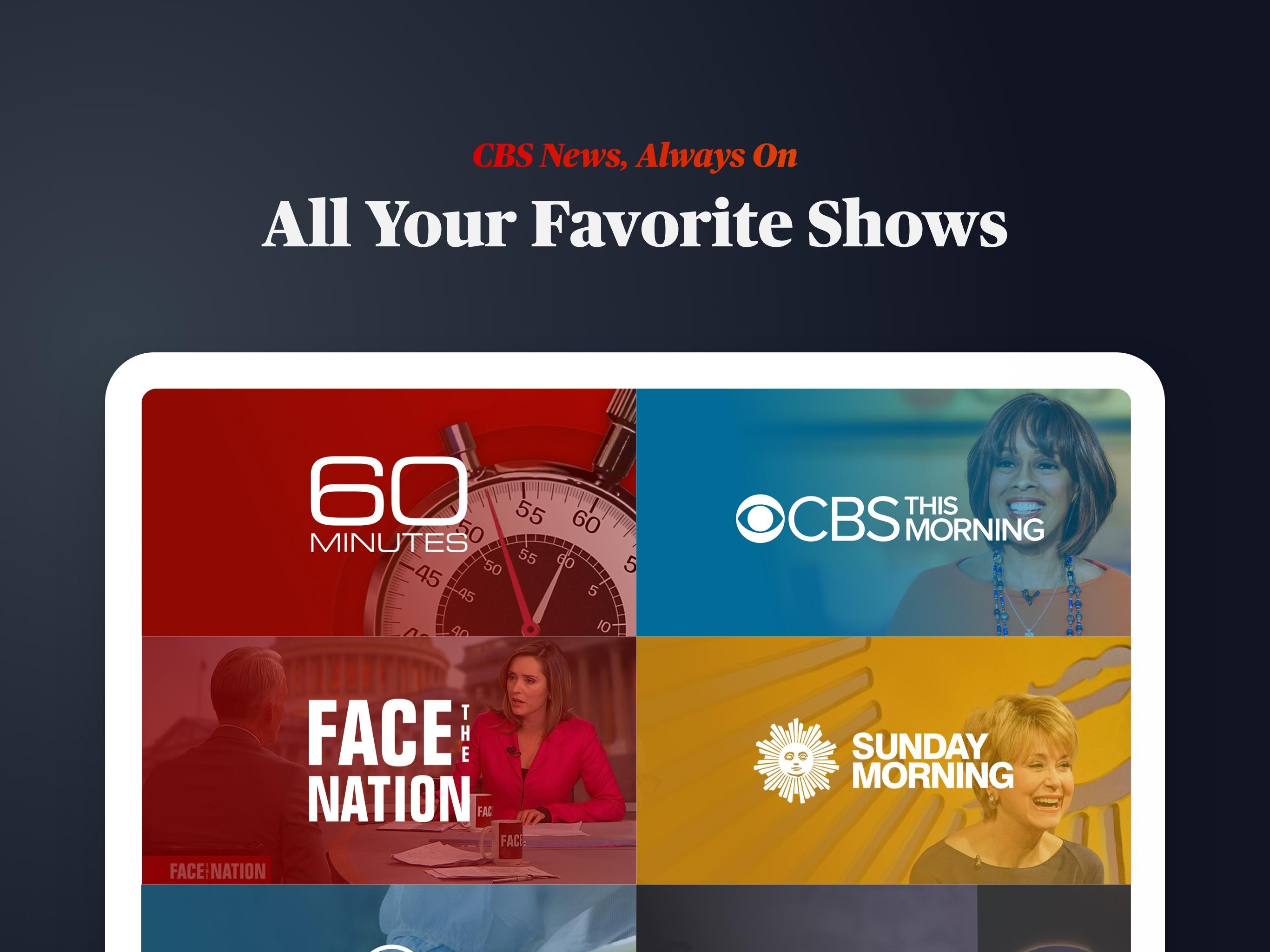 CBS News Live Breaking News 4.1.8 Screenshot 7