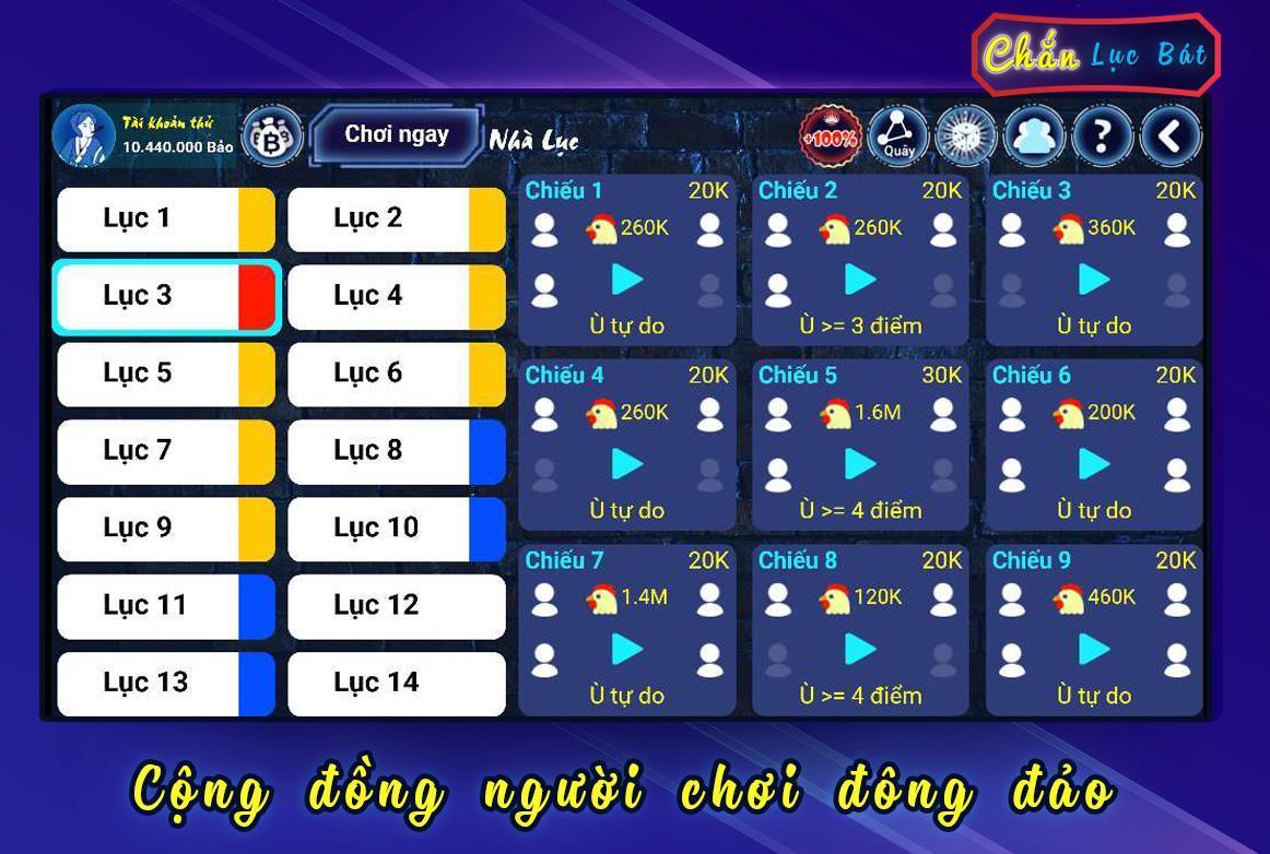Chắn Lục Bát Chan Dan Gian 1.2.99 Screenshot 2