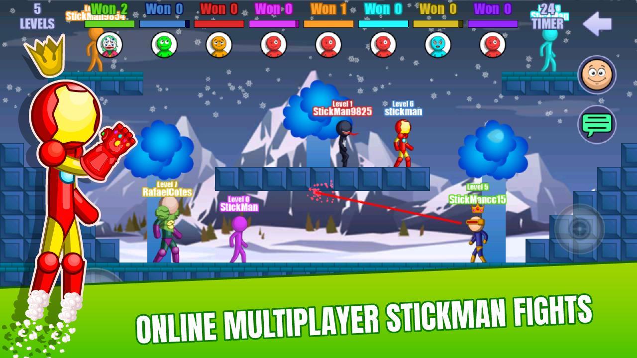 Stick Fight Online: Multiplayer Stickman Battle 2.0.30 Screenshot 1
