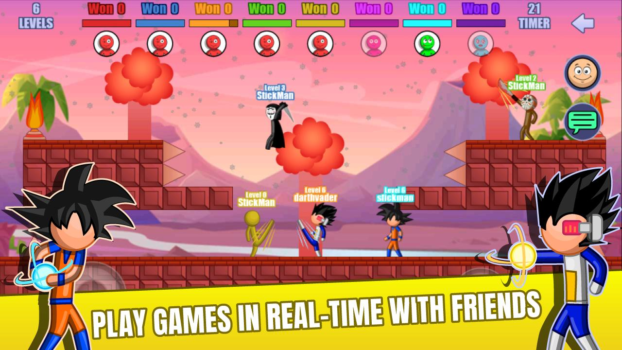 Stick Fight Online: Multiplayer Stickman Battle 2.0.30 Screenshot 2