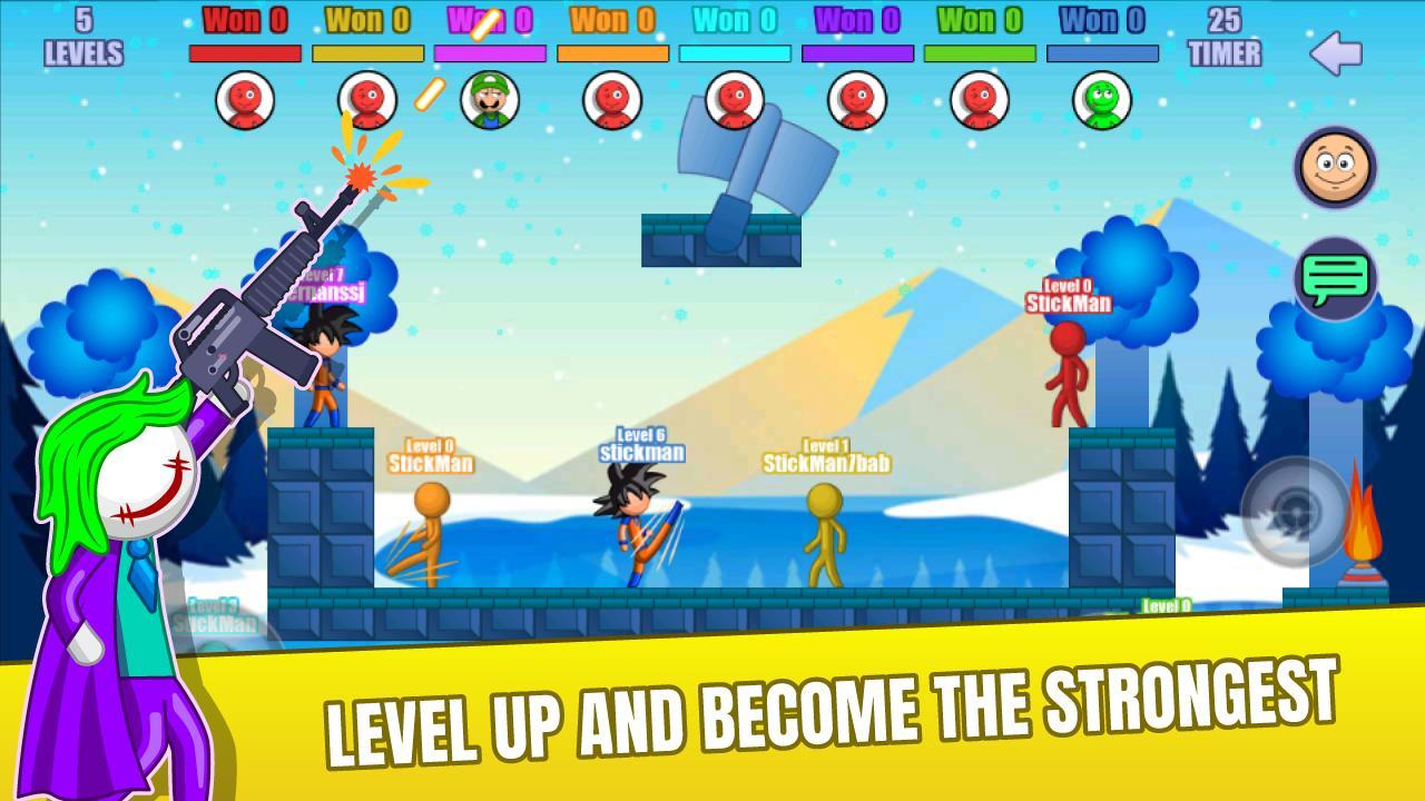Stick Fight Online: Multiplayer Stickman Battle 2.0.30 Screenshot 6