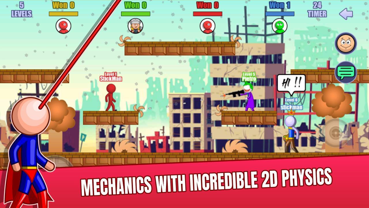 Stick Fight Online: Multiplayer Stickman Battle 2.0.30 Screenshot 7