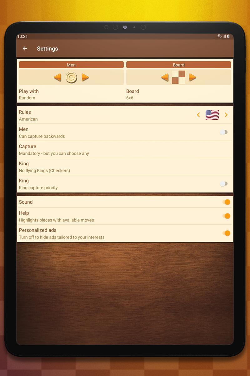 Checkers 1.79.1 Screenshot 12
