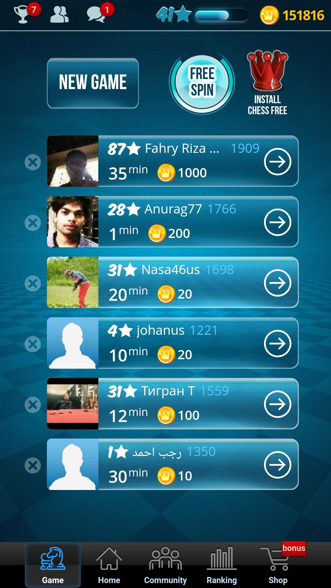 Chess Online 4.9.3 Screenshot 1