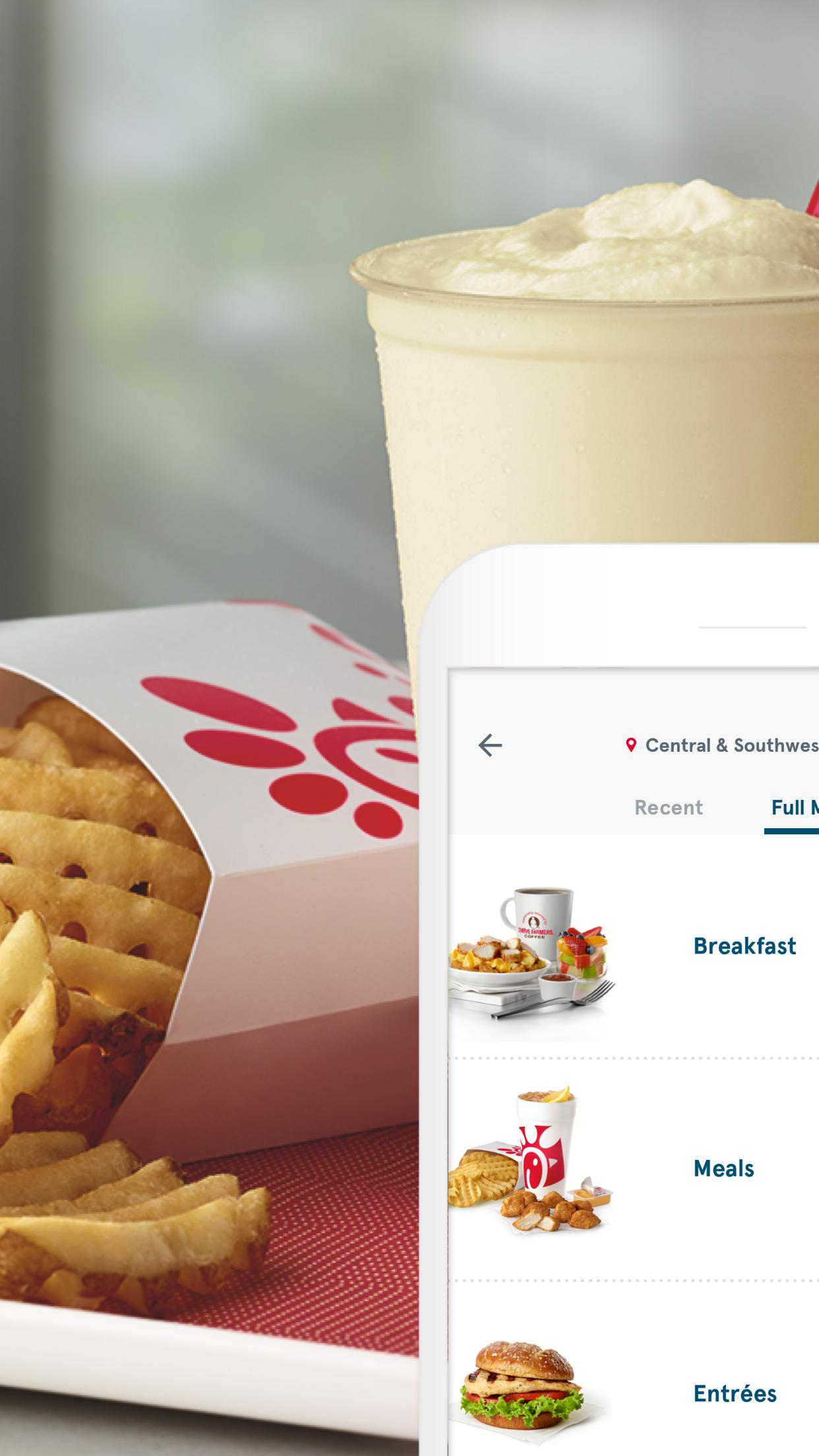 Chick-fil-A 6.1.10 Screenshot 2