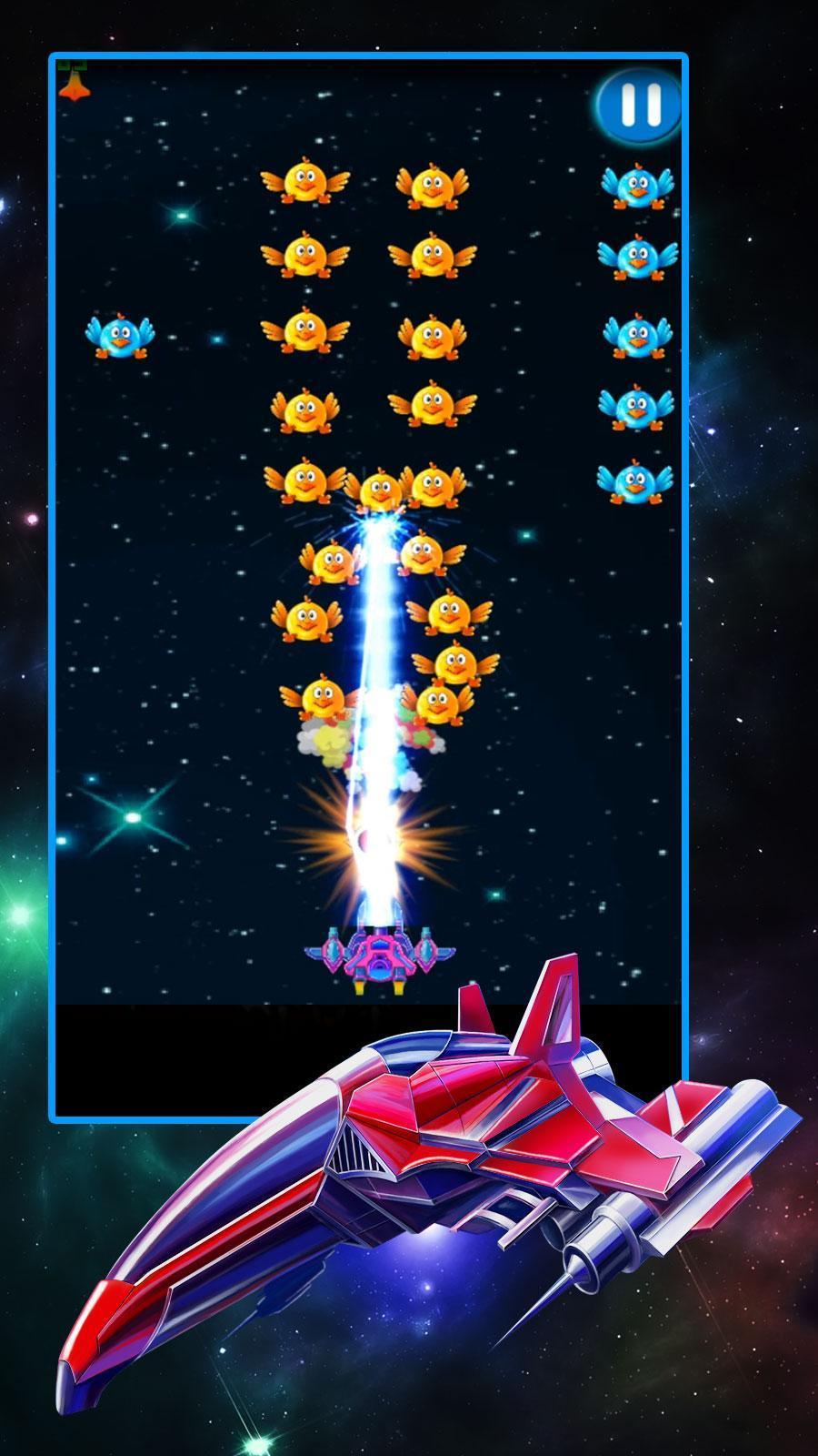 Chicken Shooter Galaxy Attack 2.8 Screenshot 4