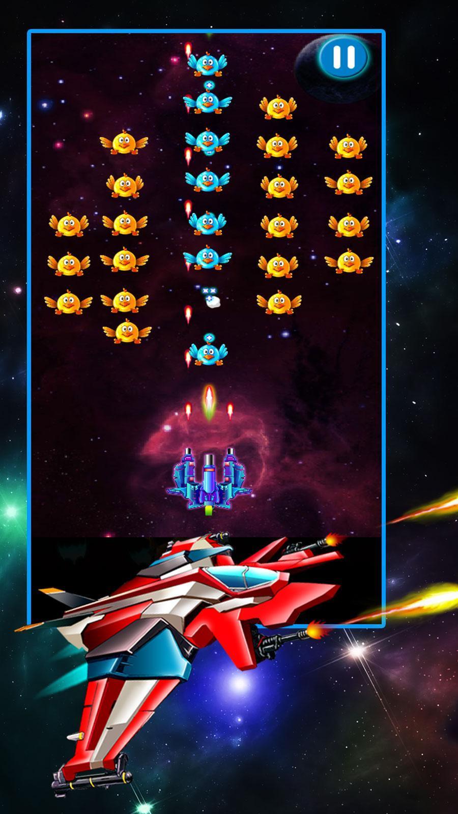 Chicken Shooter Galaxy Attack 2.8 Screenshot 8