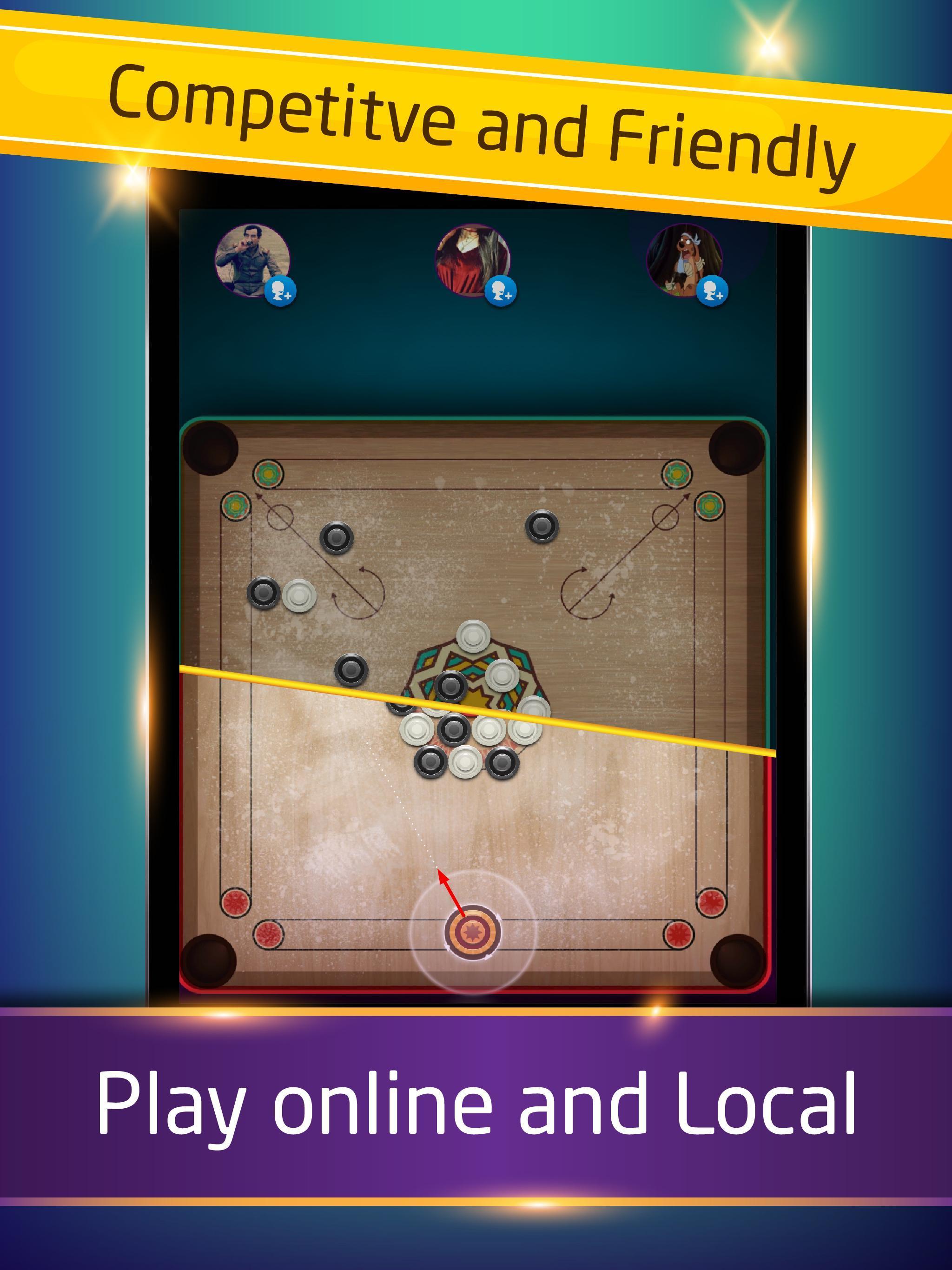 Carrom كيرم - Online pool game 1.8.2 Screenshot 16