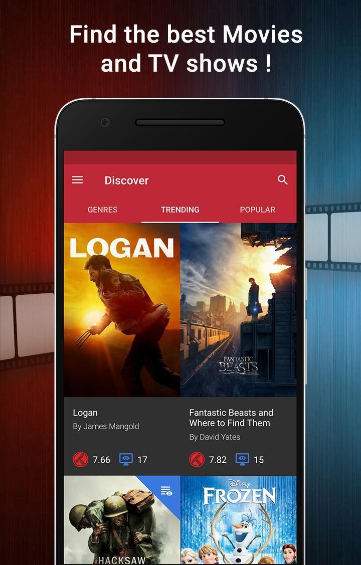 CineTrak Your Movie and TV Show Diary 0.7.64 Screenshot 1