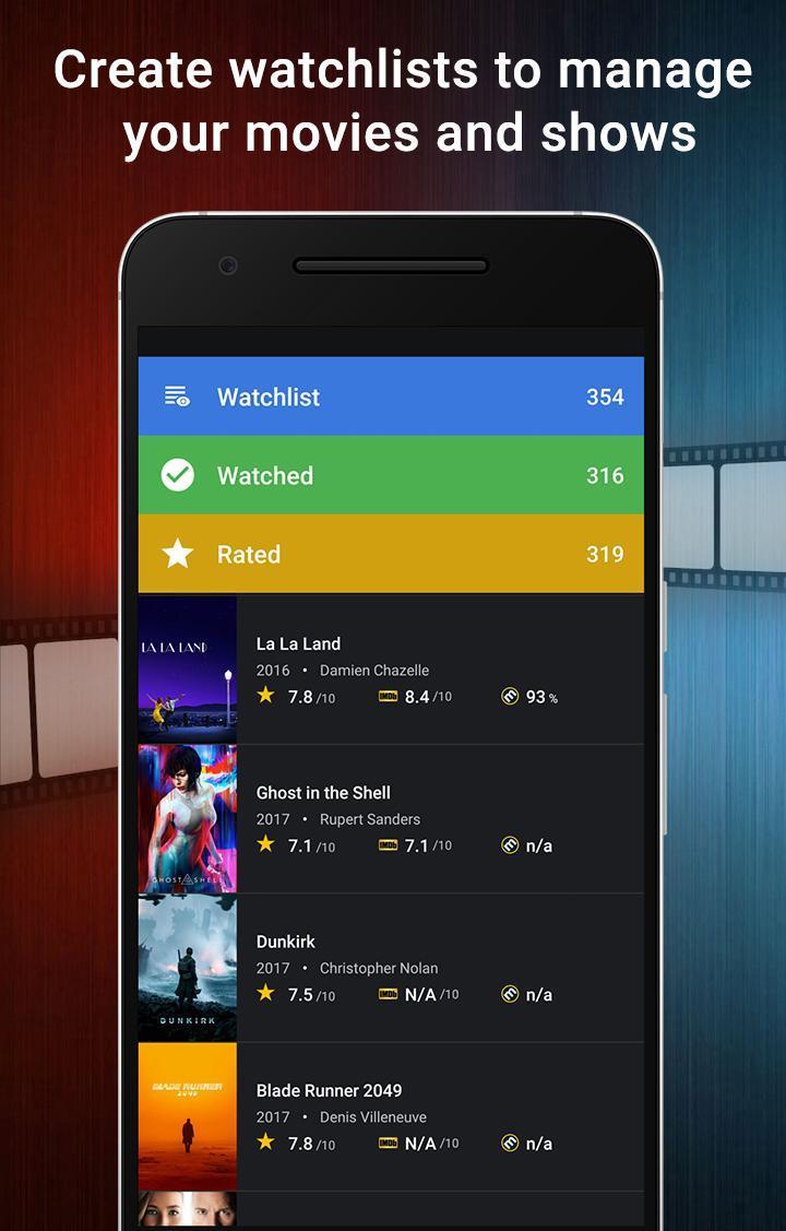CineTrak Your Movie and TV Show Diary 0.7.64 Screenshot 2