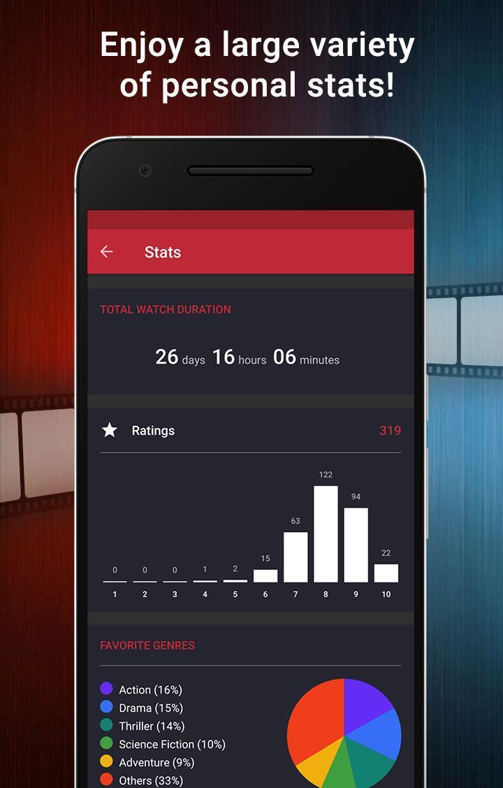 CineTrak Your Movie and TV Show Diary 0.7.64 Screenshot 8