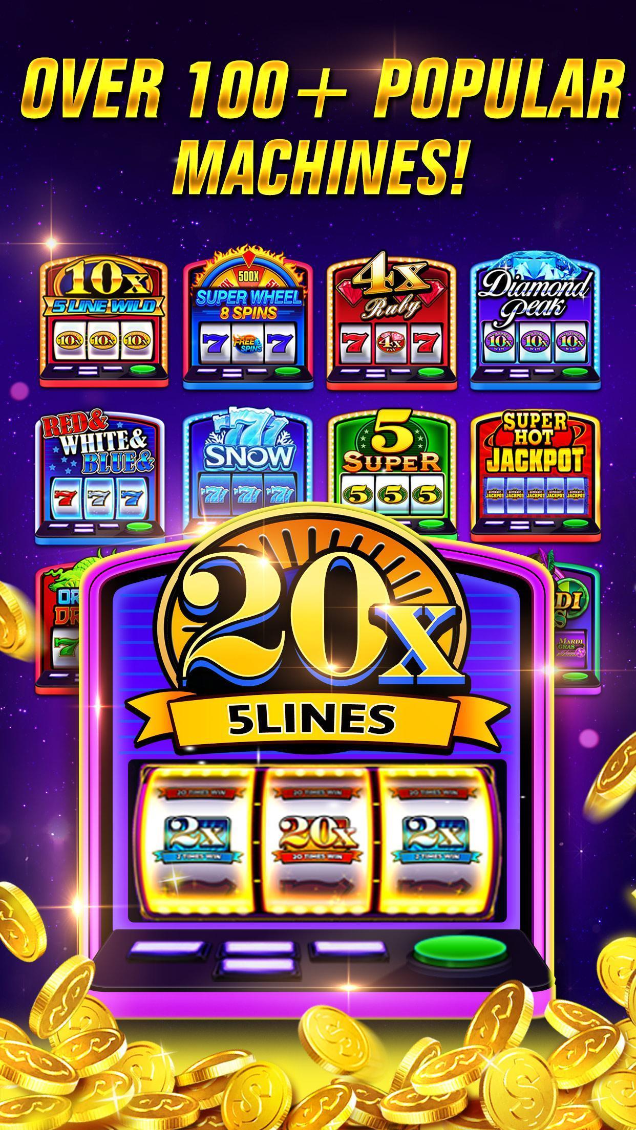 Lucky Draw - 3D Casino Slots 5.0.0 Screenshot 1