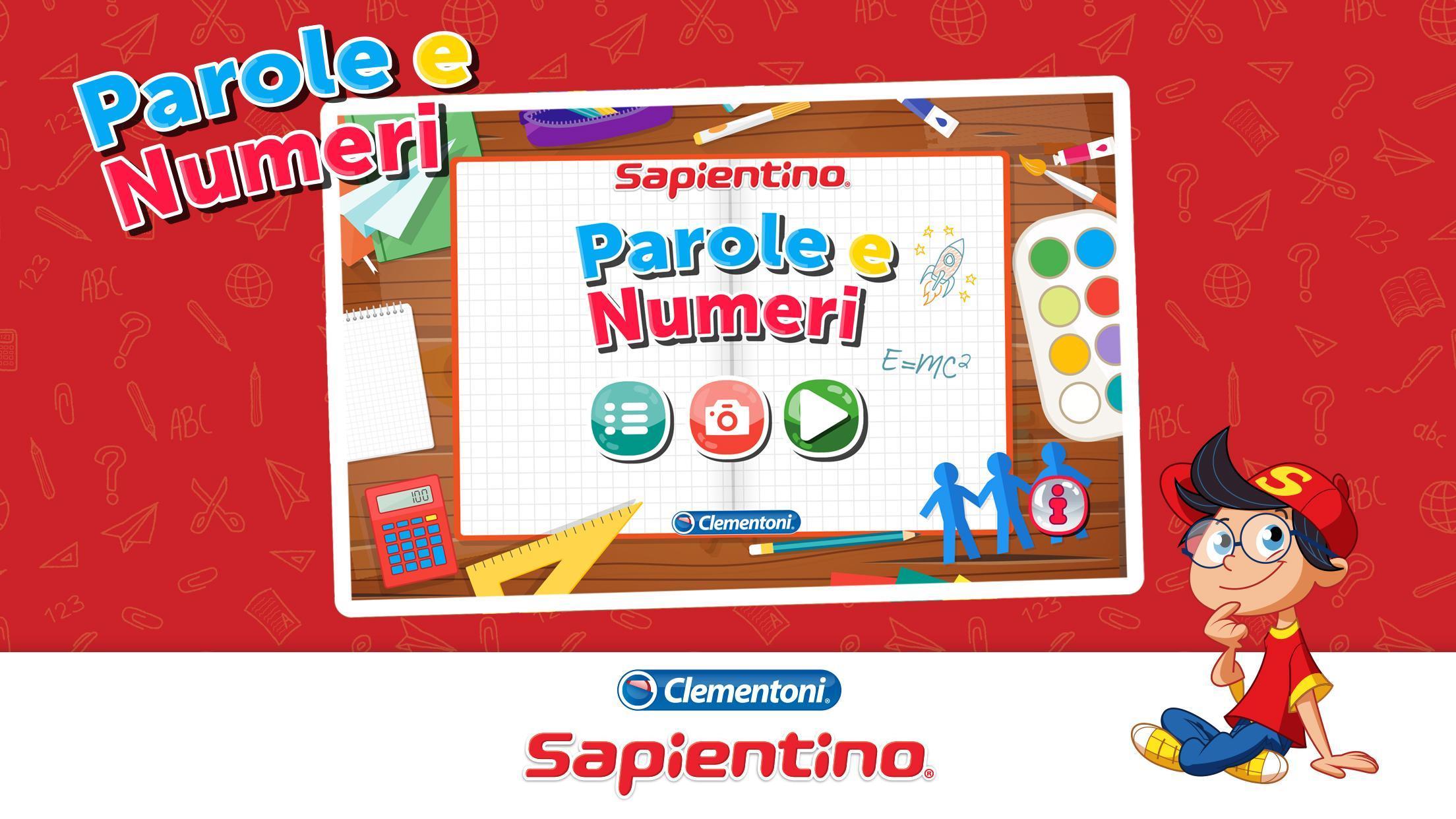 Sapientino Parole e Numeri 1.0 Screenshot 1