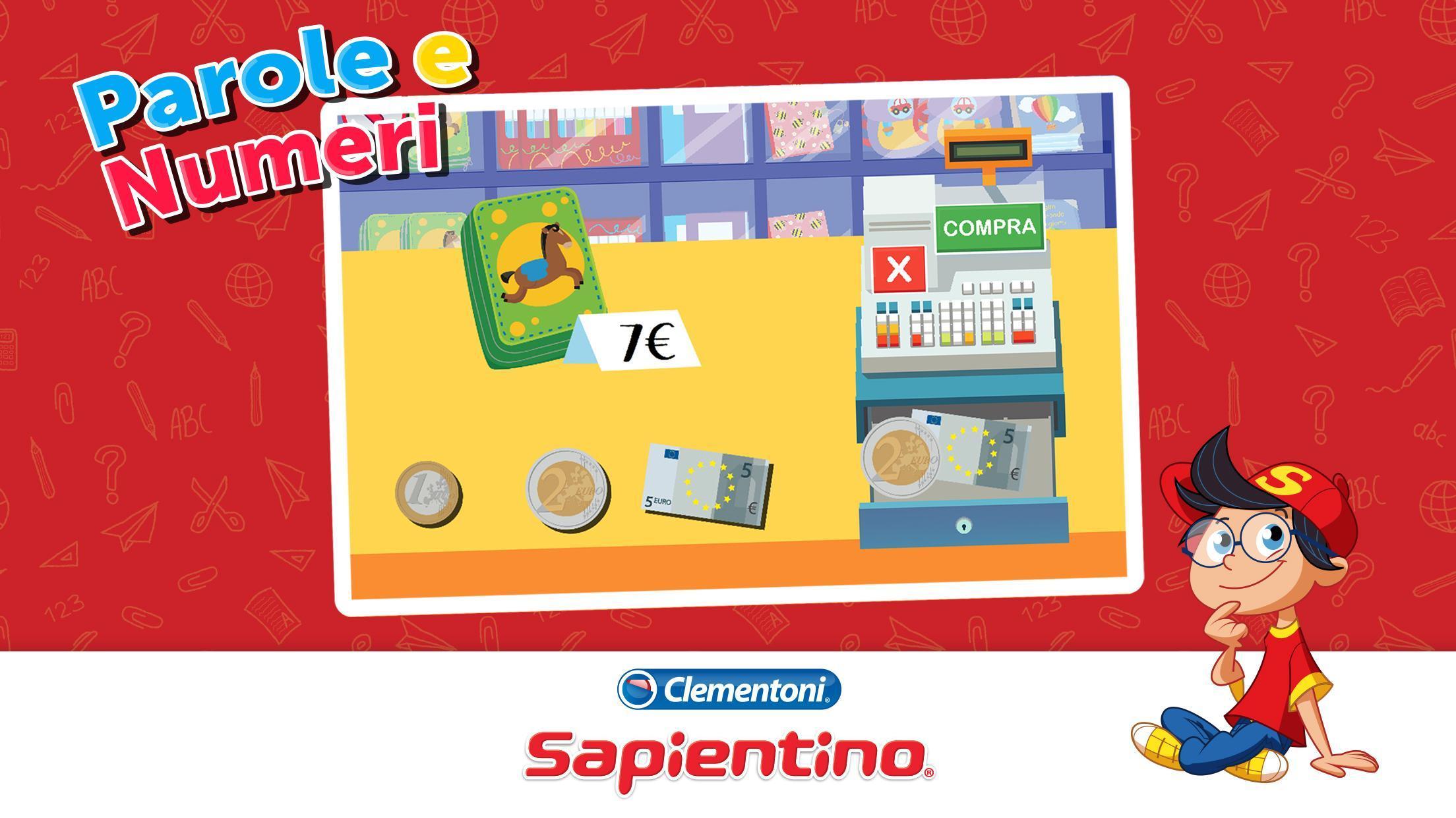 Sapientino Parole e Numeri 1.0 Screenshot 3