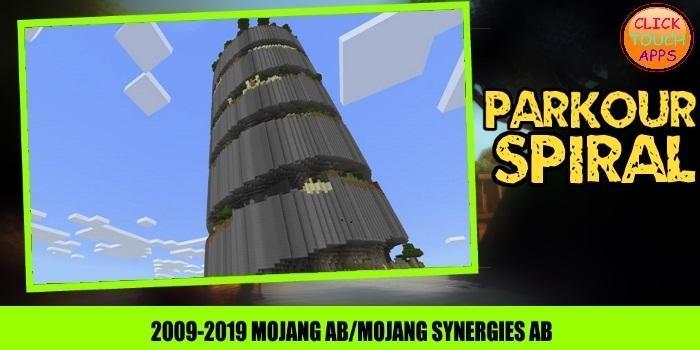 Map Parkour Spiral 1.0 Screenshot 2
