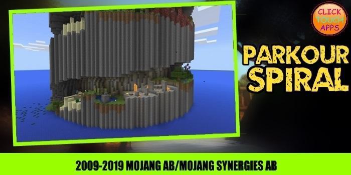 Map Parkour Spiral 1.0 Screenshot 3