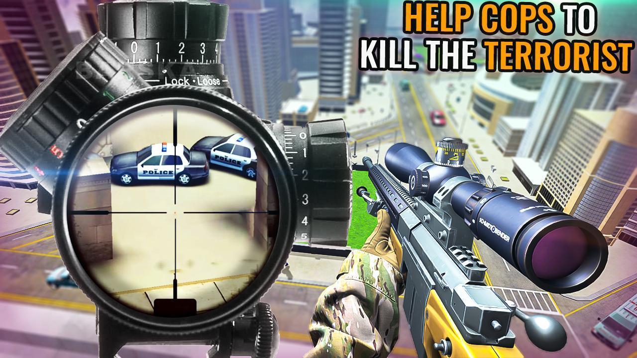 Modern Sniper 3d Assassin: New shooting Games 2020 3.0.2f2 Screenshot 10