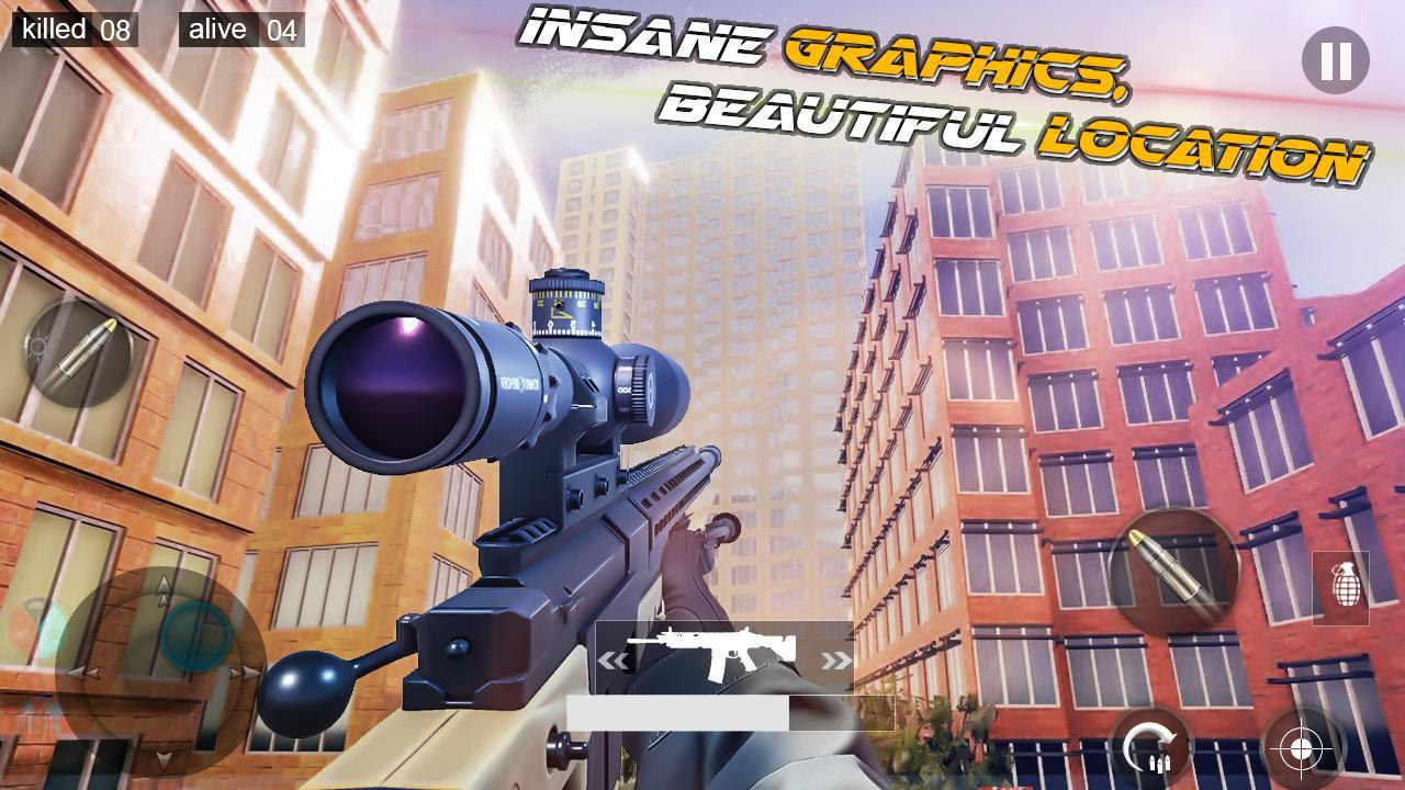 Modern Sniper 3d Assassin: New shooting Games 2020 3.0.2f2 Screenshot 8