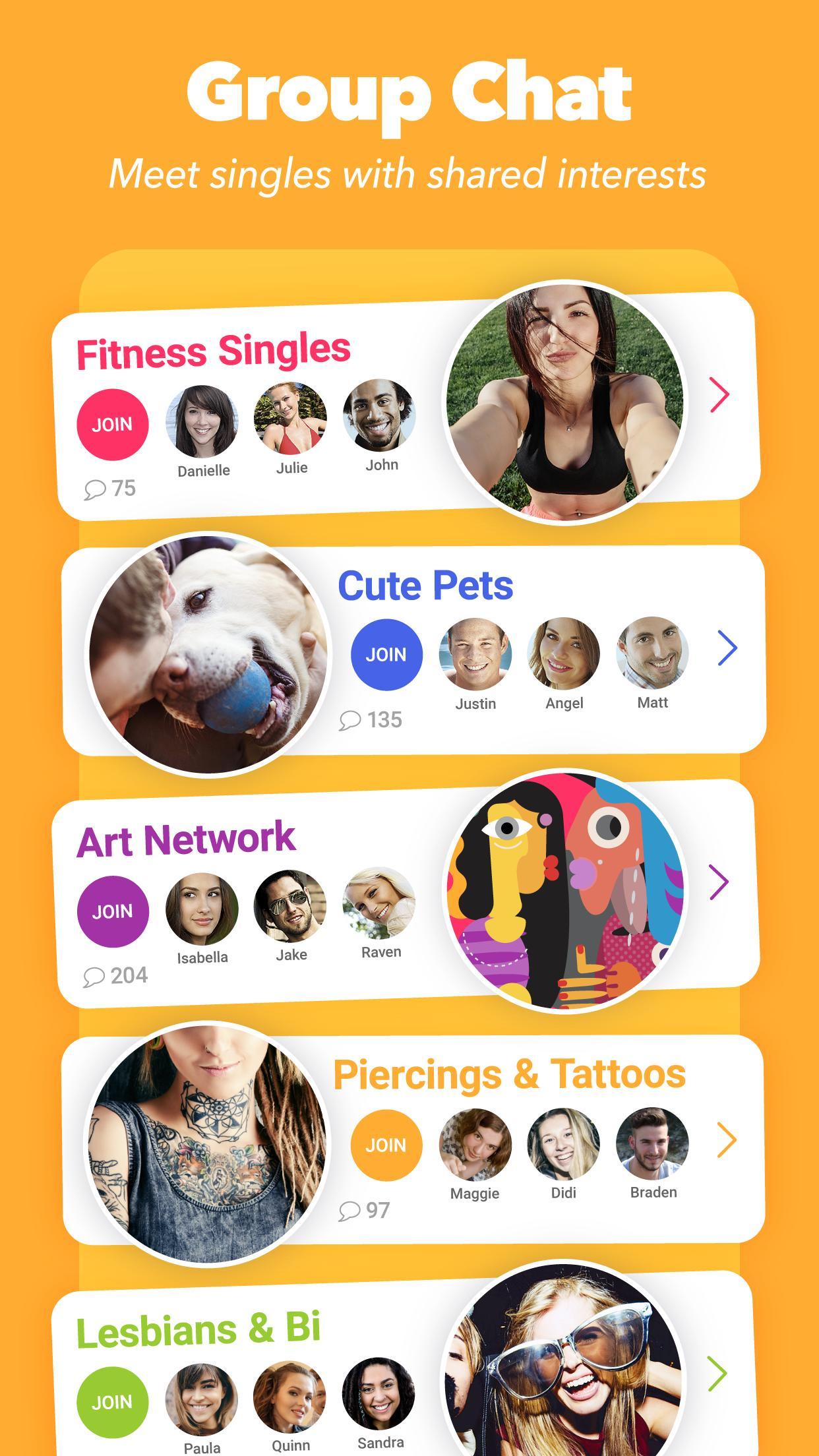 Clover Dating App 3.1.4 Screenshot 3