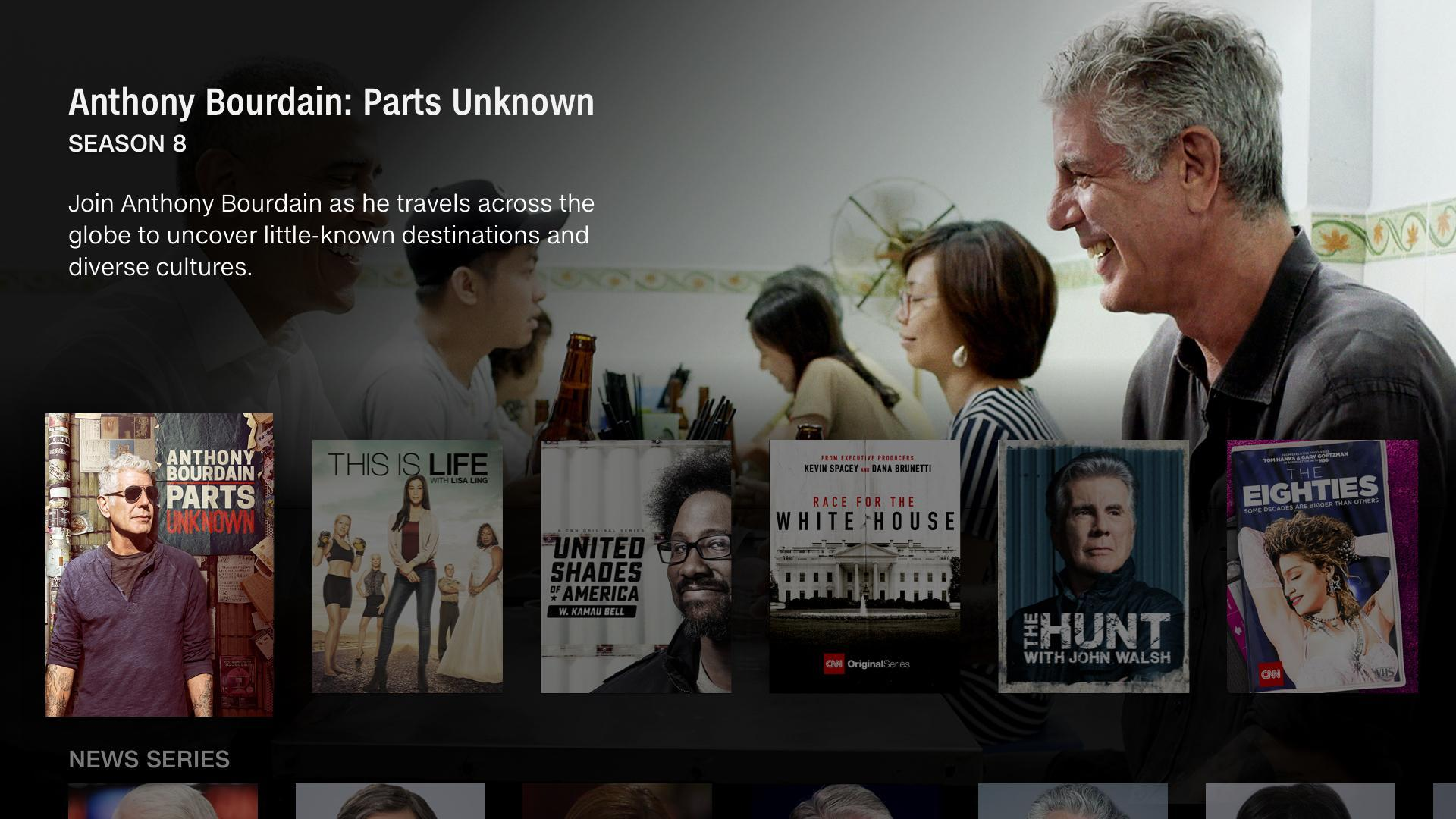 CNNgo for Android TV 2.9.0.445 Screenshot 3
