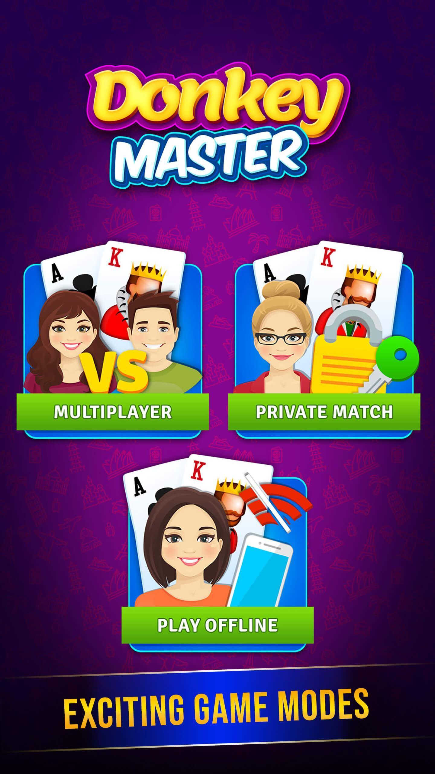 Donkey Master Donkey Card Game 3.54 Screenshot 2