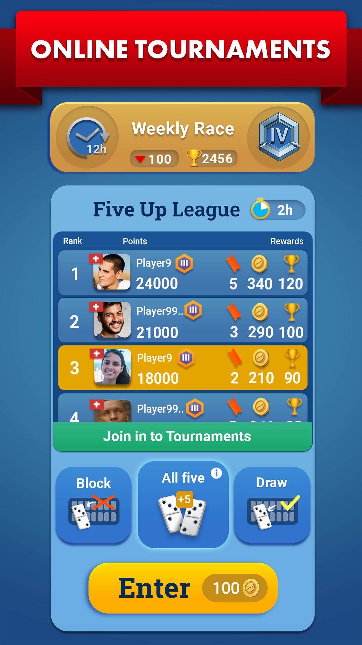 Dominos Party - Classic Domino Board Game 4.9.4 Screenshot 3