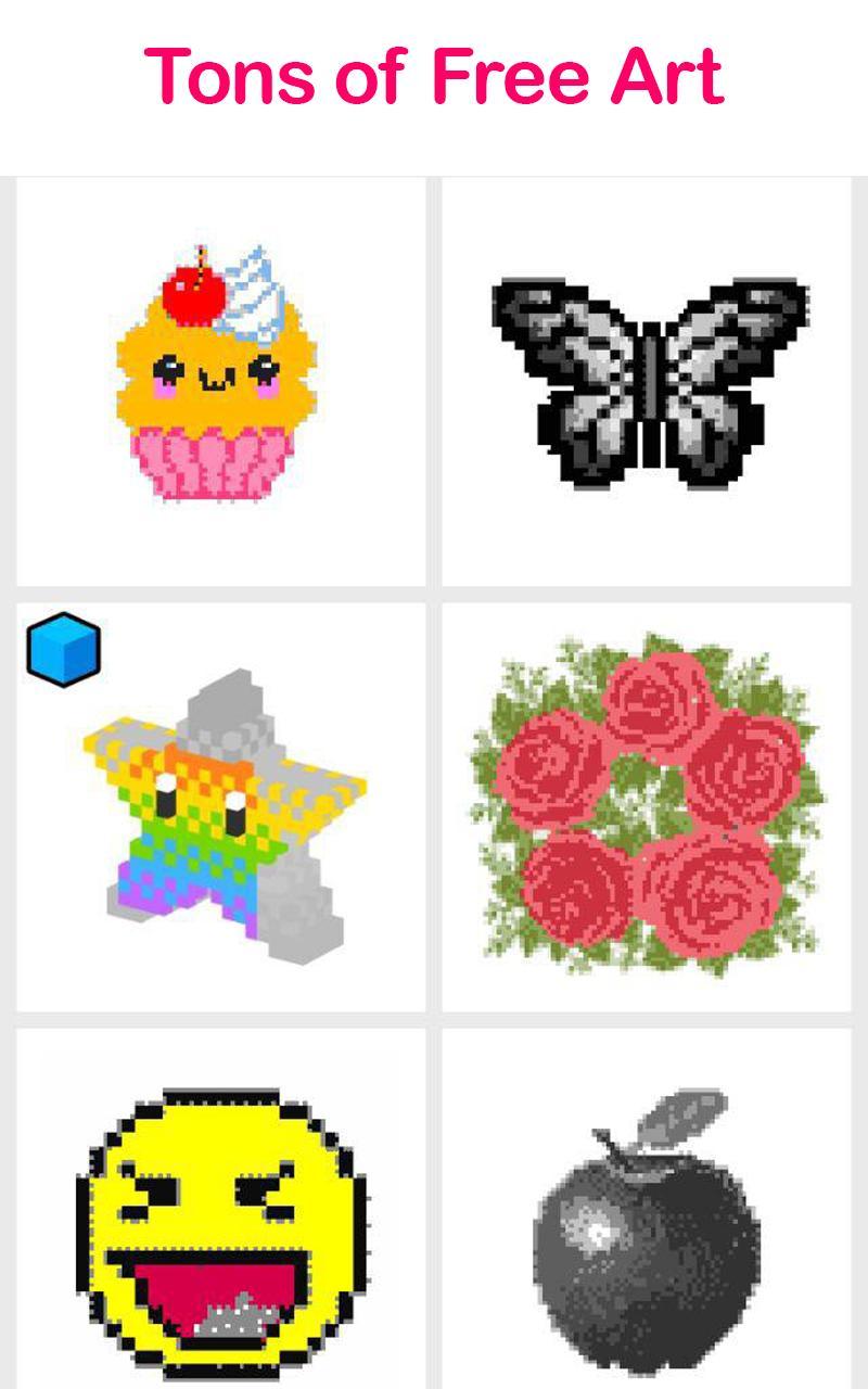Pix.Color Color By Number Pixel Art 28 Screenshot 15