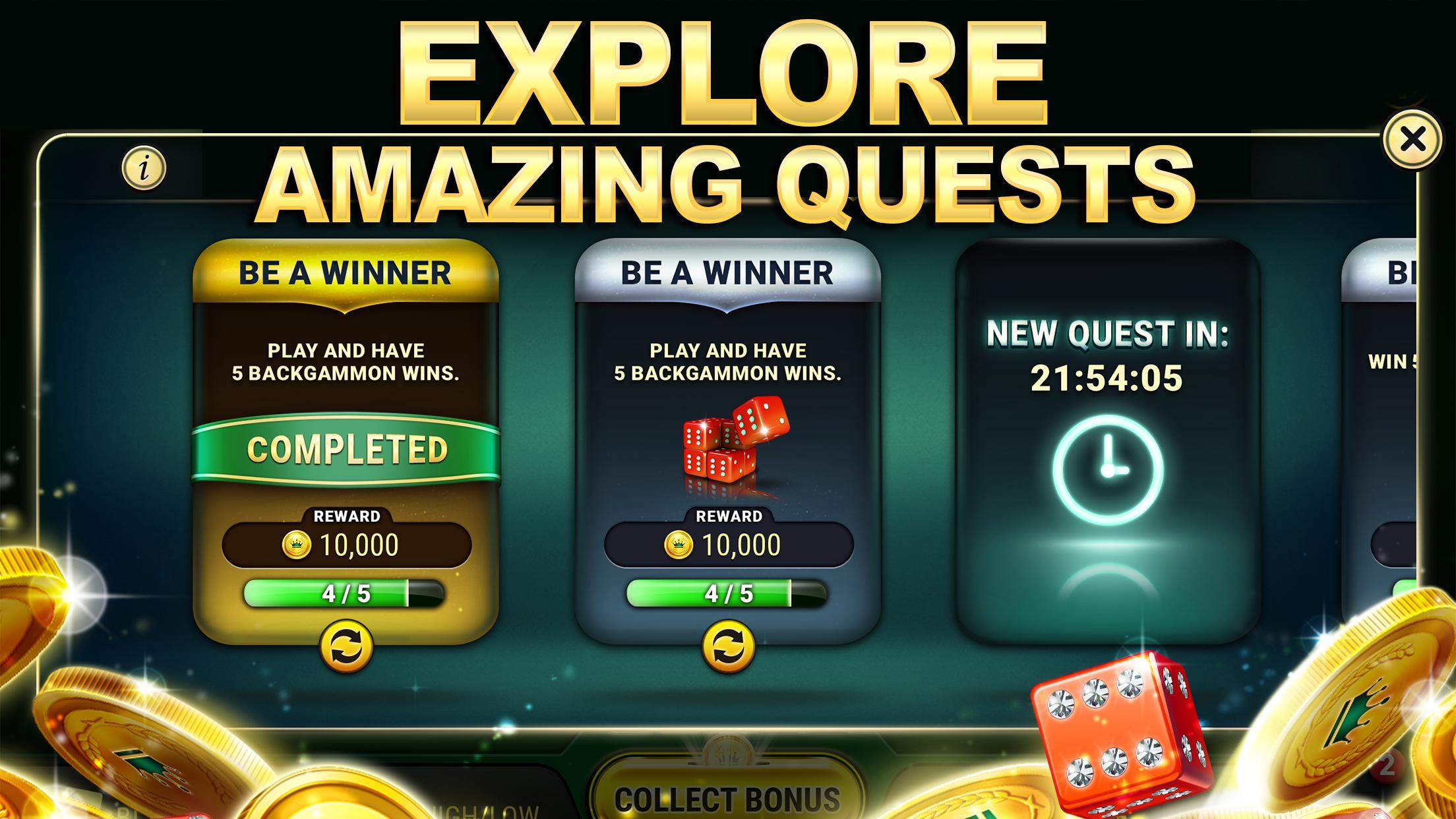 Backgammon Live - Play Online Free Backgammon 3.5.245 Screenshot 12