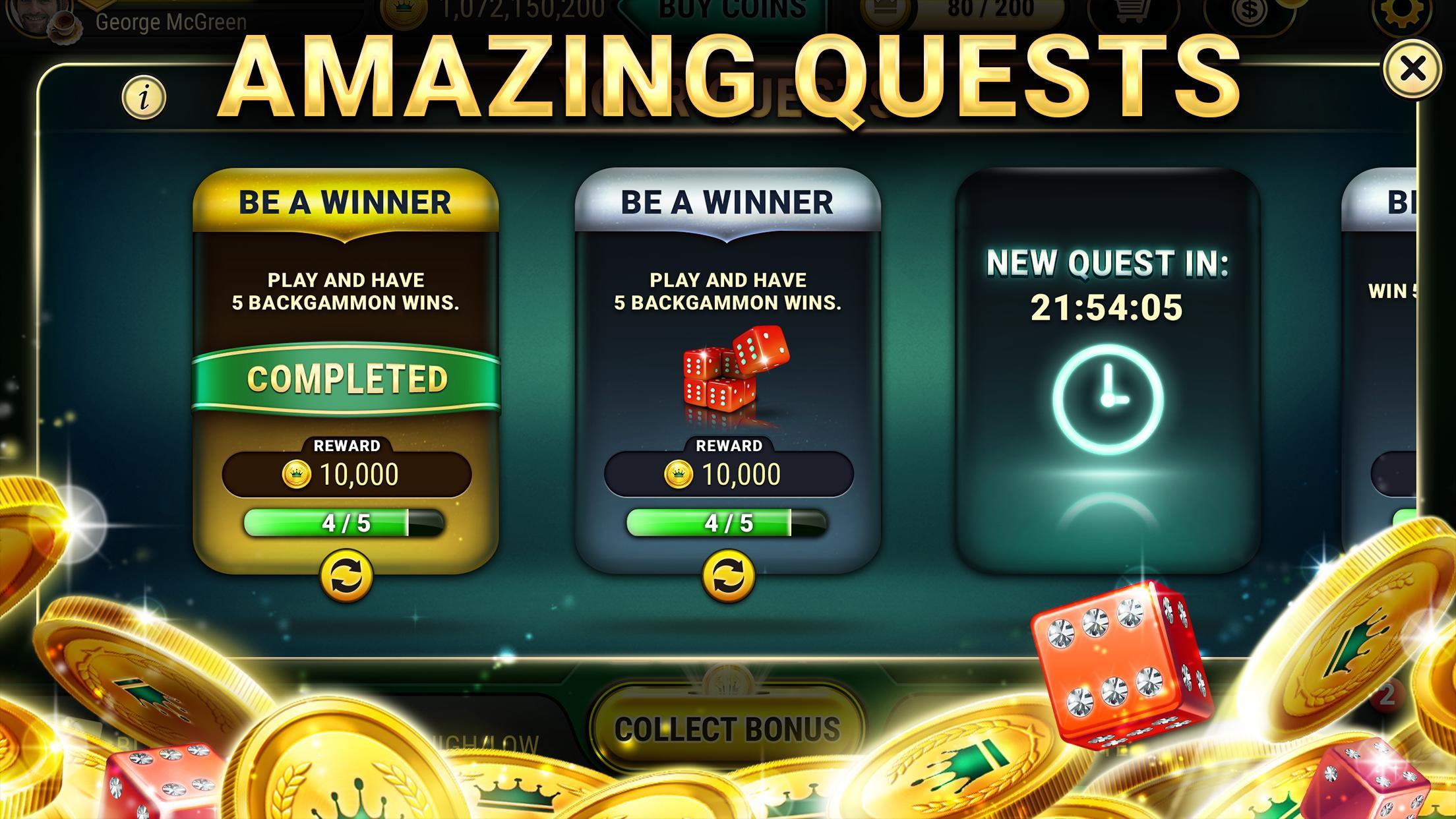 Backgammon Live - Play Online Free Backgammon 3.5.245 Screenshot 14