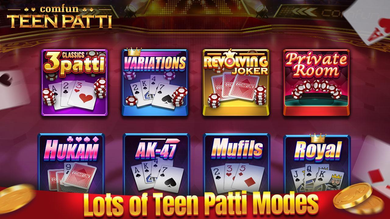 Teen Patti Comfun-Indian 3 Patti  Card Game Online 5.8.20200806 Screenshot 2