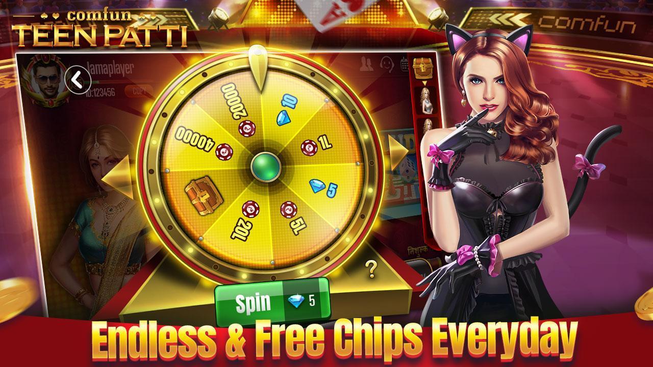 Teen Patti Comfun-Indian 3 Patti  Card Game Online 5.8.20200806 Screenshot 4