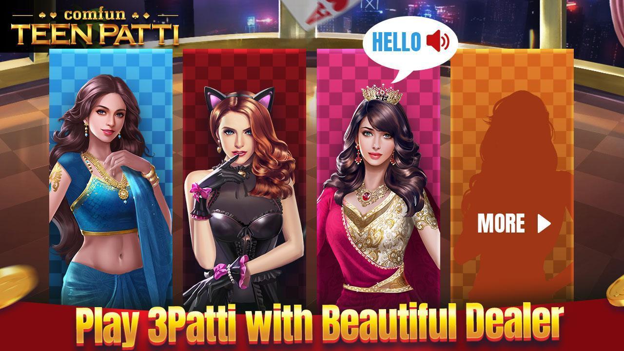 Teen Patti Comfun-Indian 3 Patti  Card Game Online 5.8.20200806 Screenshot 6
