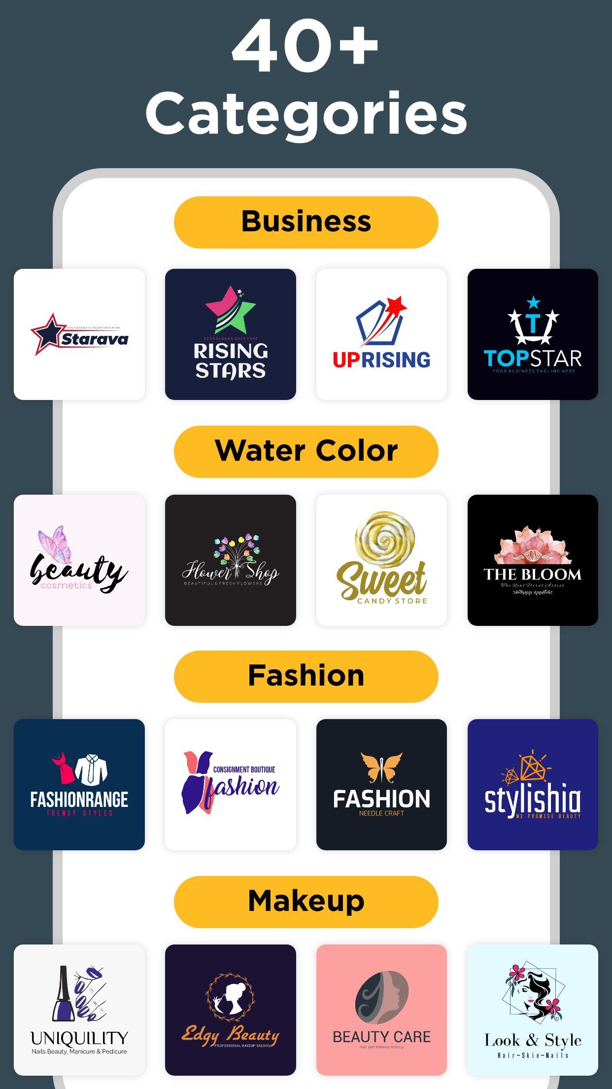 Logo Maker Free Graphic Design & Logo Templates 33.7 Screenshot 10