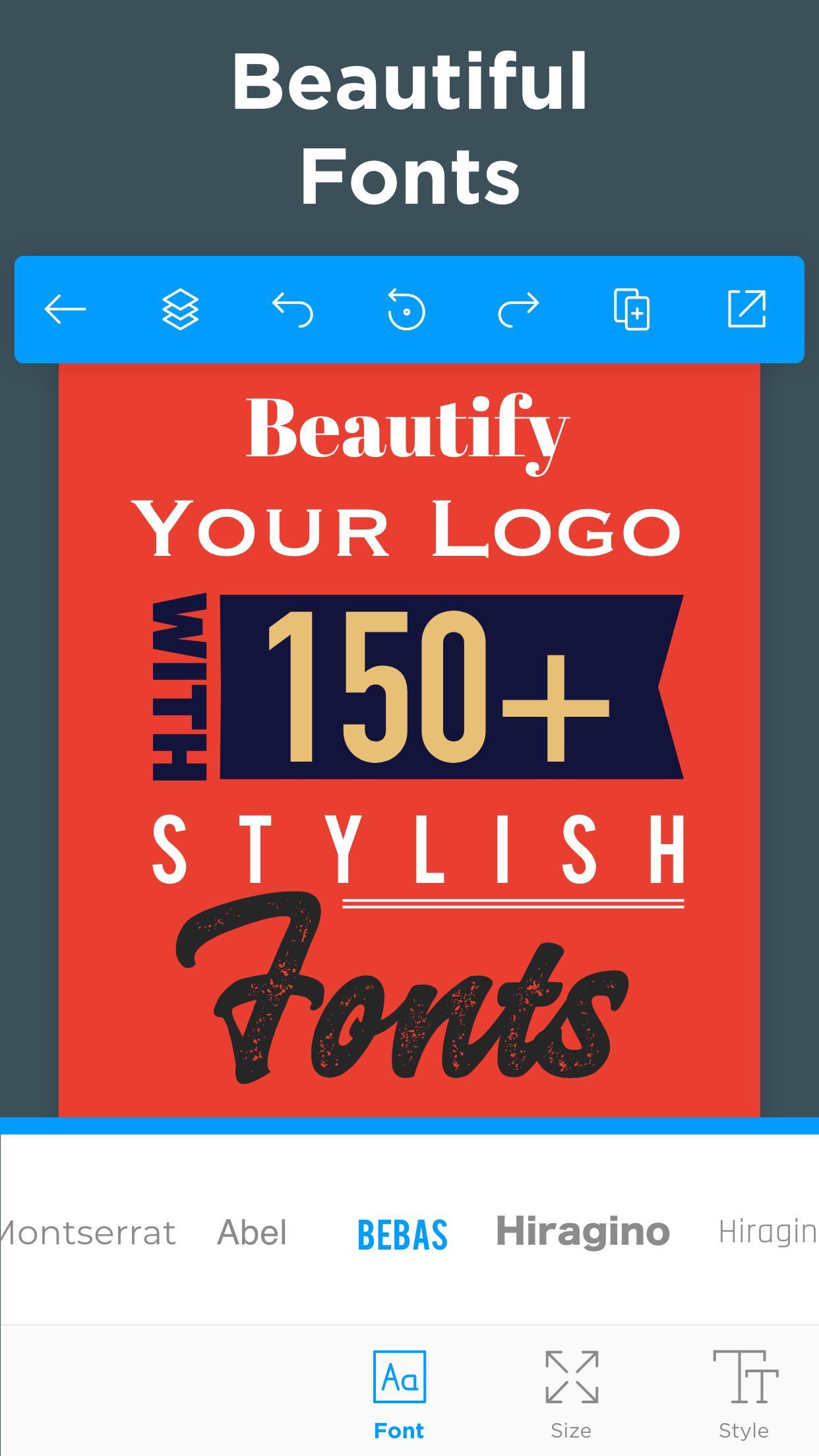 Logo Maker Free Graphic Design & Logo Templates 33.7 Screenshot 5