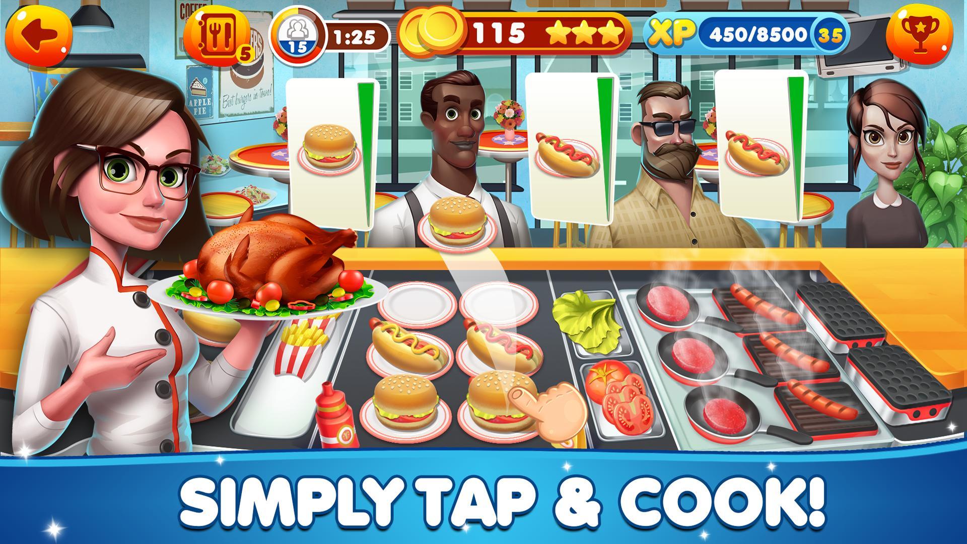 Cooking Games Craze - Food Restaurant Chef Fever 1.50 Screenshot 3
