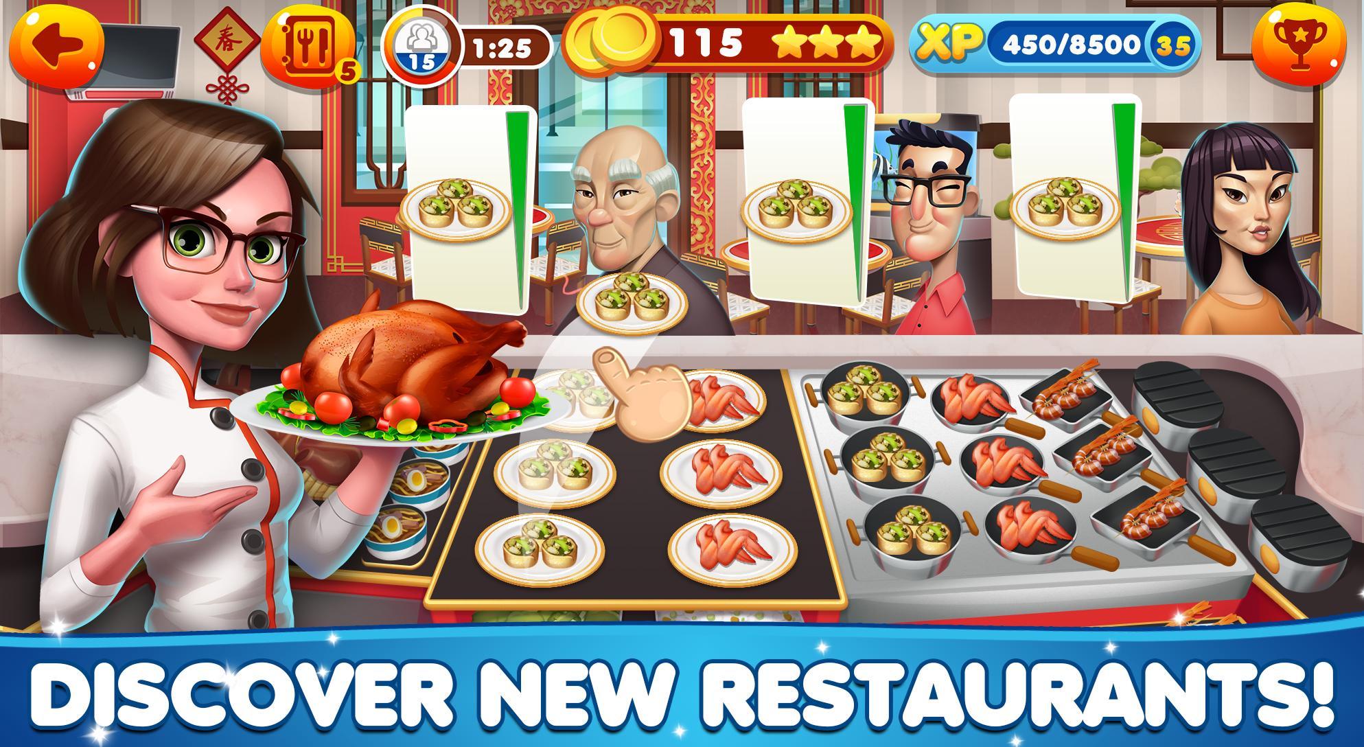 Cooking Games Craze - Food Restaurant Chef Fever 1.50 Screenshot 4