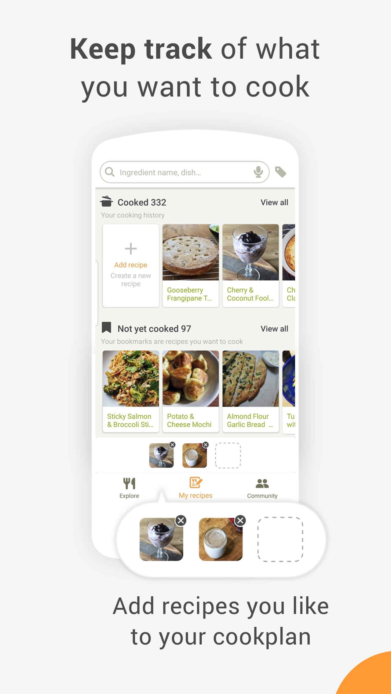 Cookpad Create your own Recipes 2.126.2.0-android Screenshot 3