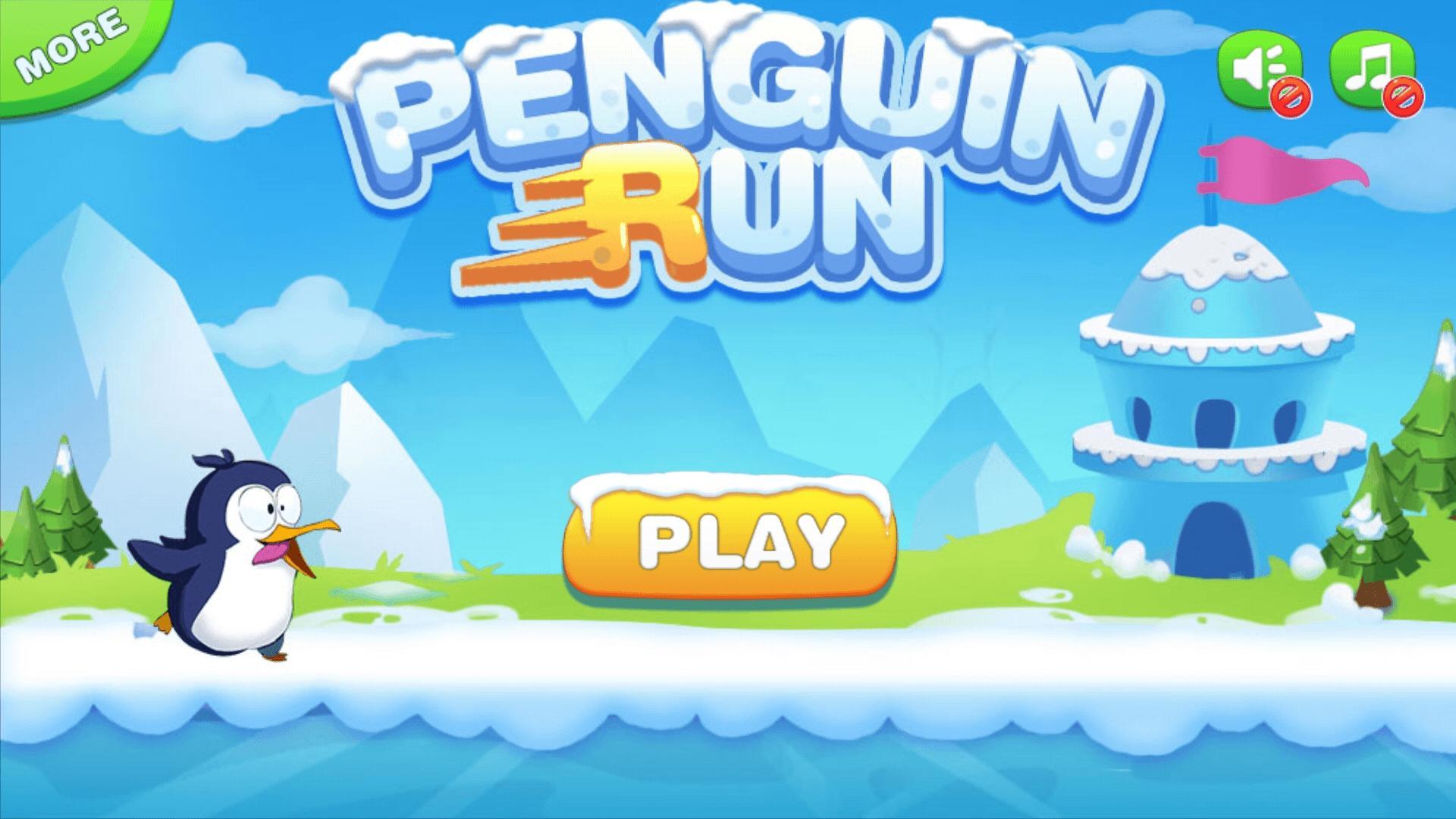 Penguin Run 1.6.3 Screenshot 1