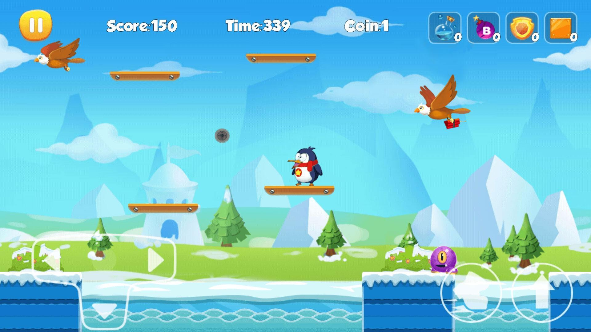 Penguin Run 1.6.3 Screenshot 2